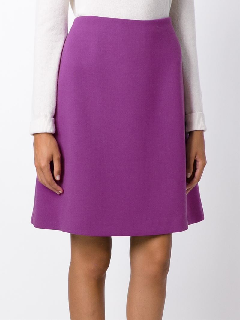 marni classic a line skirt in pink lyst