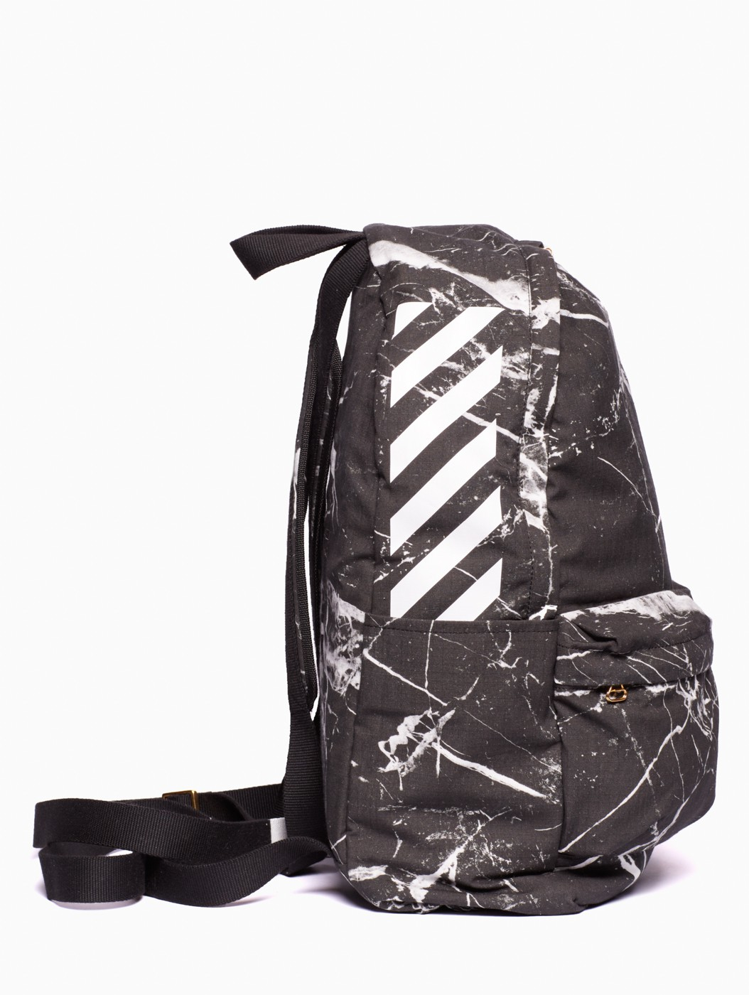 off white c o virgil abloh backpack in black for men lyst. Black Bedroom Furniture Sets. Home Design Ideas