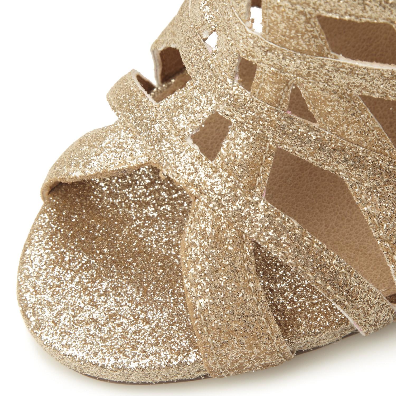 6b0380d0c70 Steve Madden Marquee Caged High Heel Sandal in Metallic - Lyst