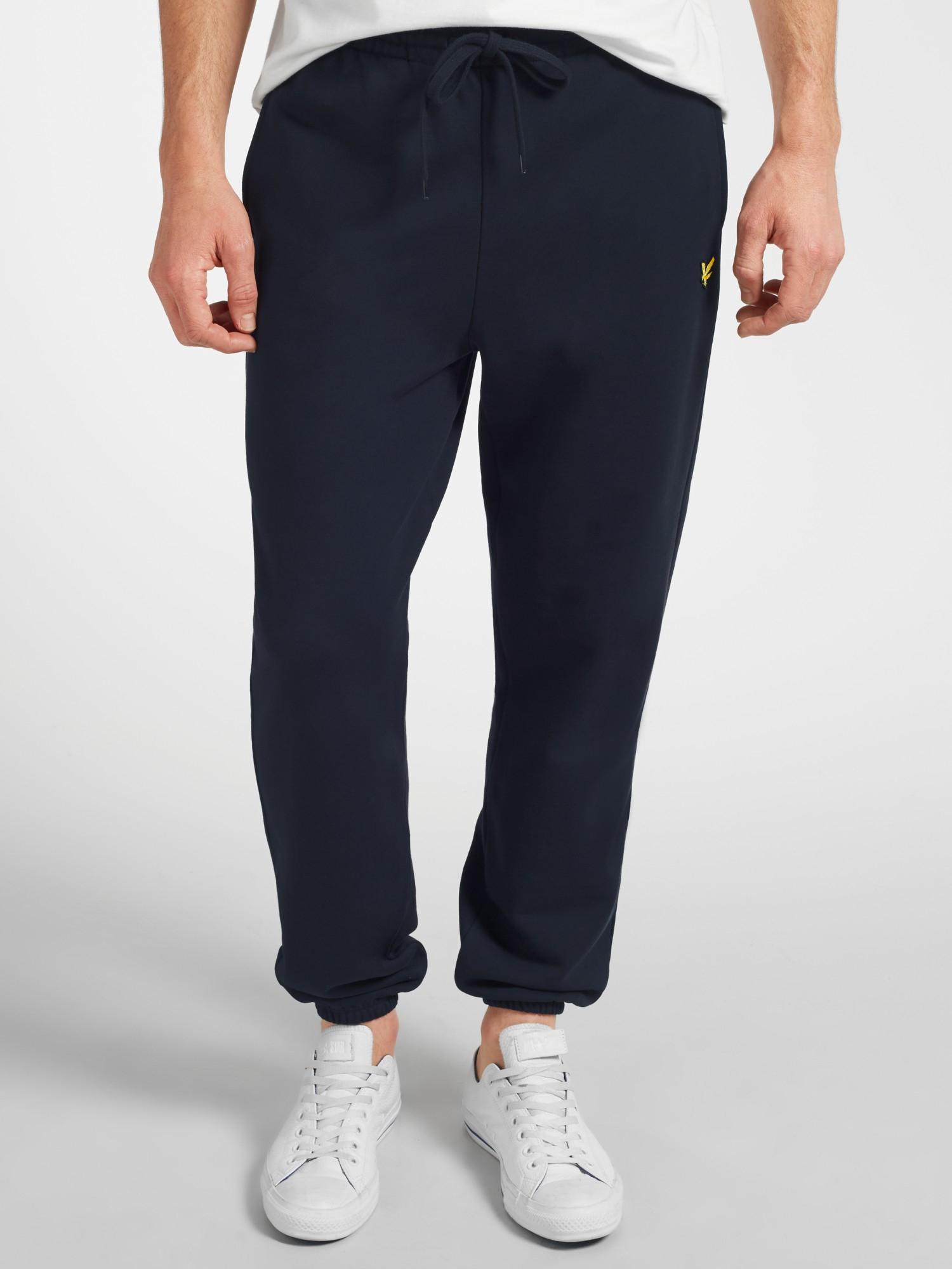 1d1cc69a Lyle & Scott Cuffed Sweat Pants in Blue for Men - Lyst