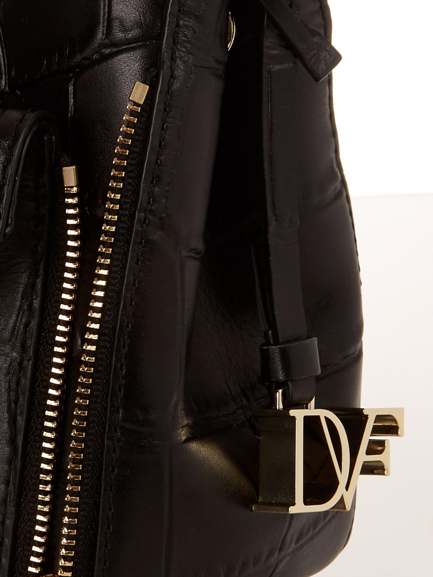 d24fa9c330 Lyst - Diane von Furstenberg 440 Gallery Mini Secret Agent Cross ...