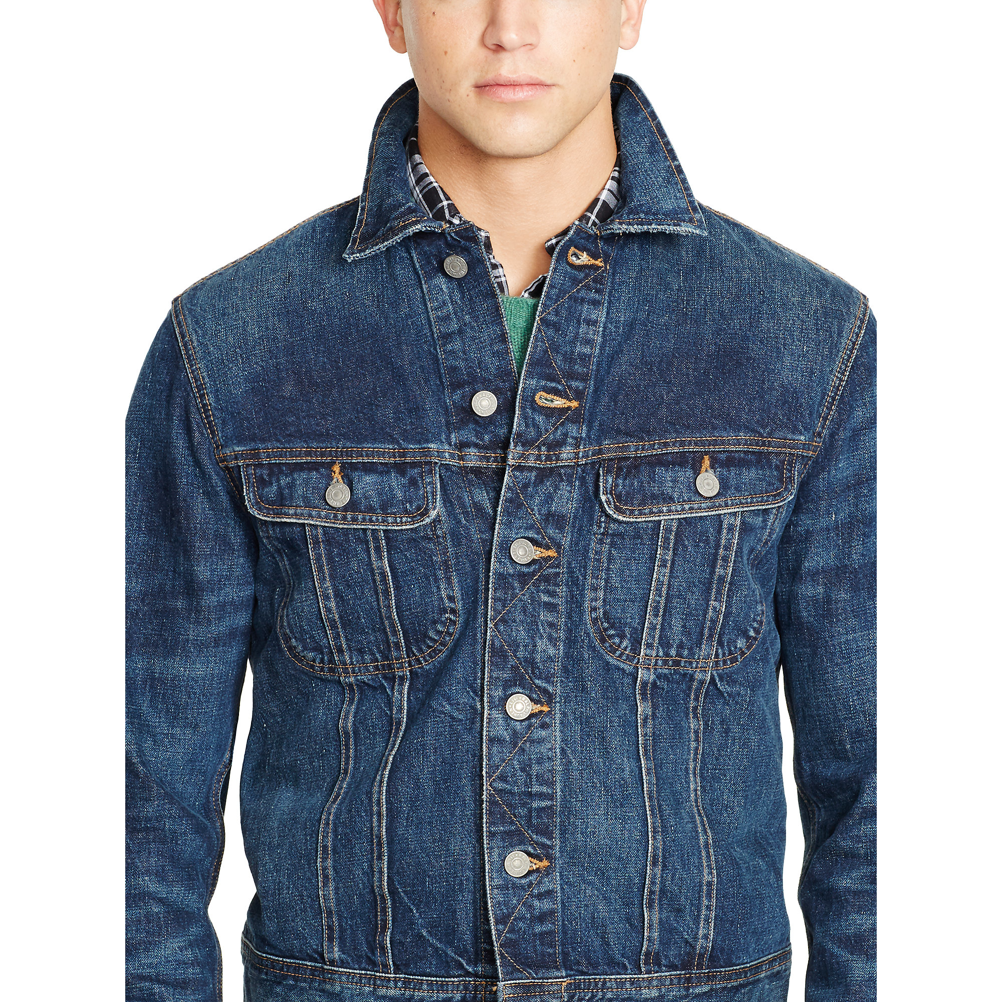 Lyst - Polo Ralph Lauren Denim Trucker Jacket in Blue for Men