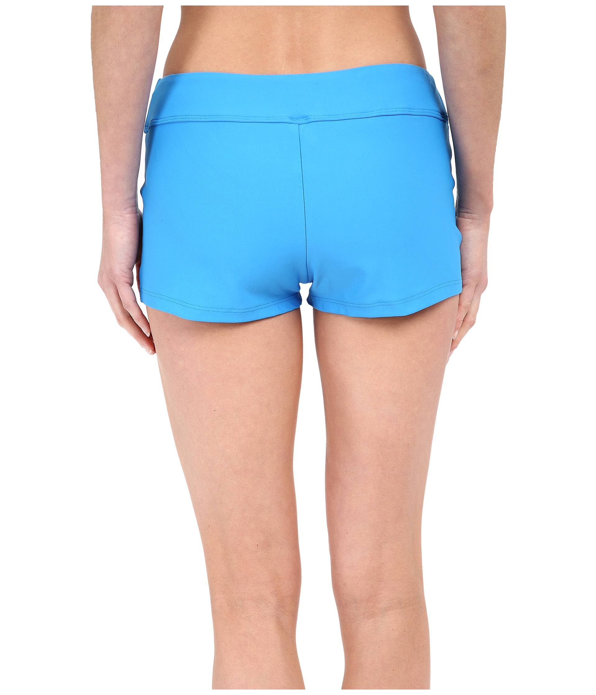 Next By Athena Good Karma Jump Start Swim Shorts In Blue