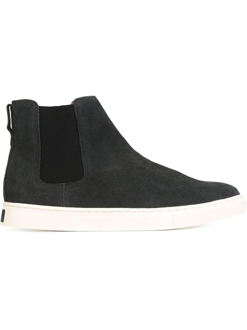 Black And White High Top Polo Shoes