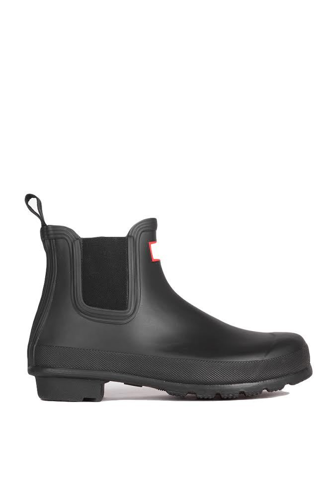 hunter original two tone chelsea rain boots black in black lyst. Black Bedroom Furniture Sets. Home Design Ideas