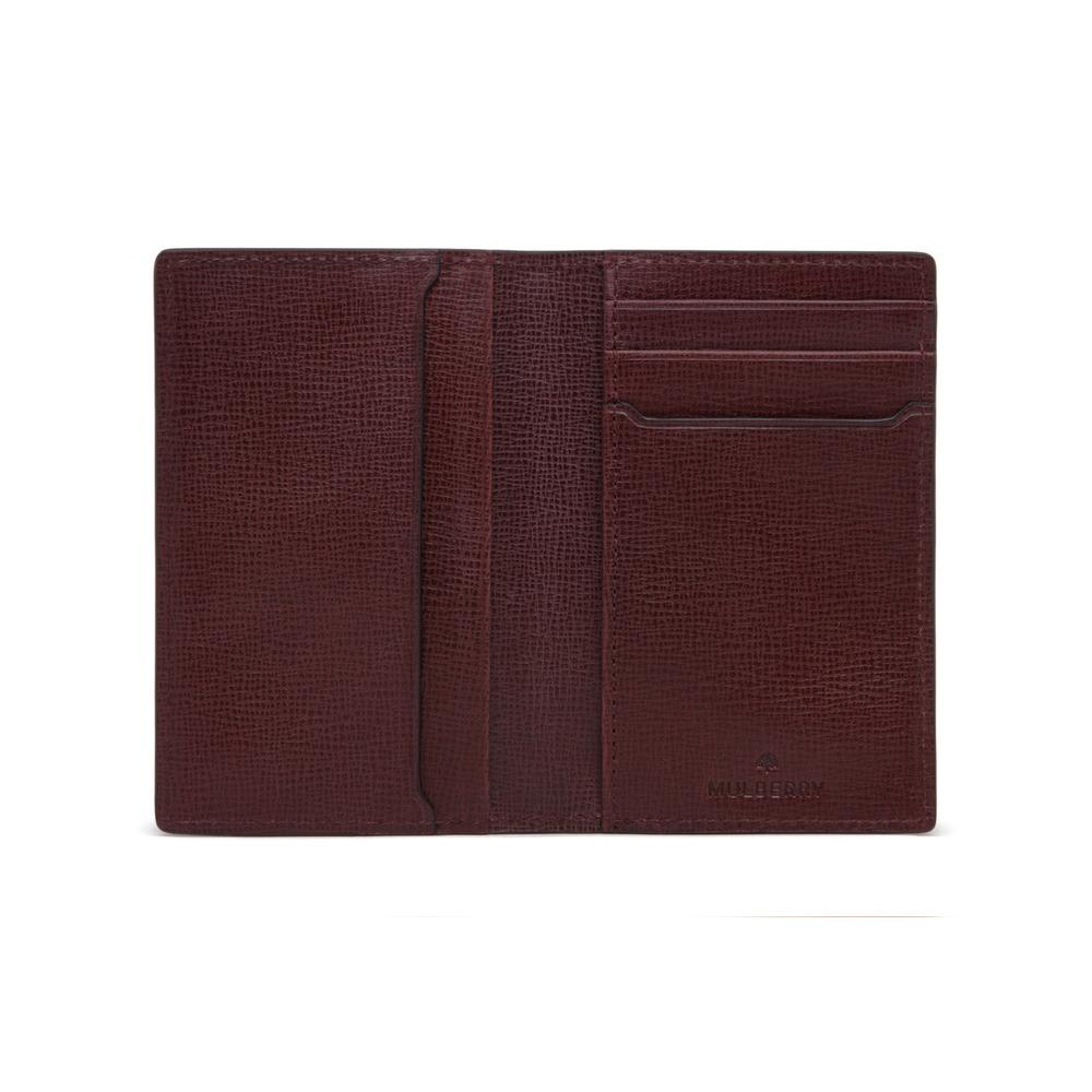 7f89fd2ef97d ... best price mulberry card wallet in purple for men lyst 314e0 f9ecc