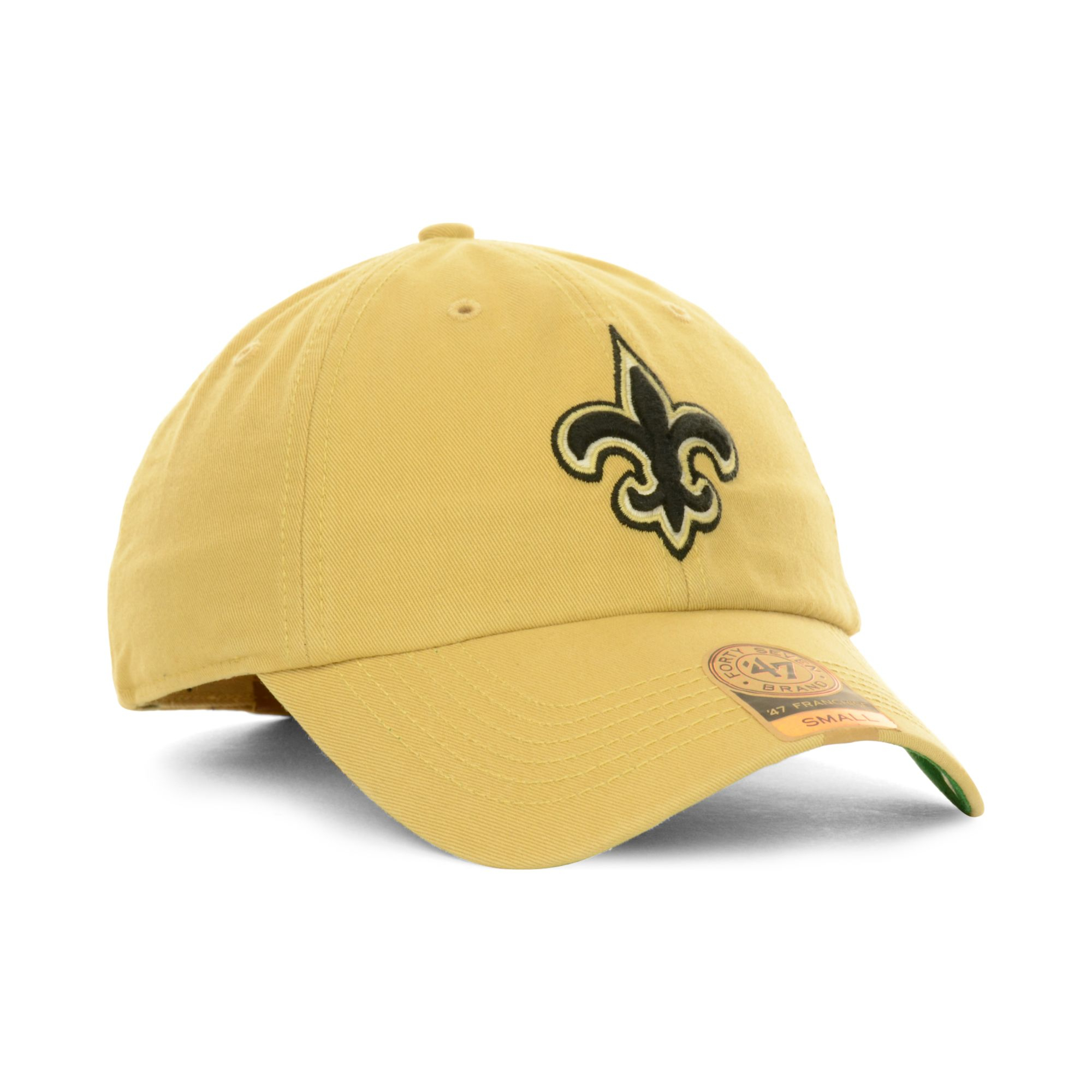 47 Brand New Orleans Saints Franchise Hat In Gold For Men