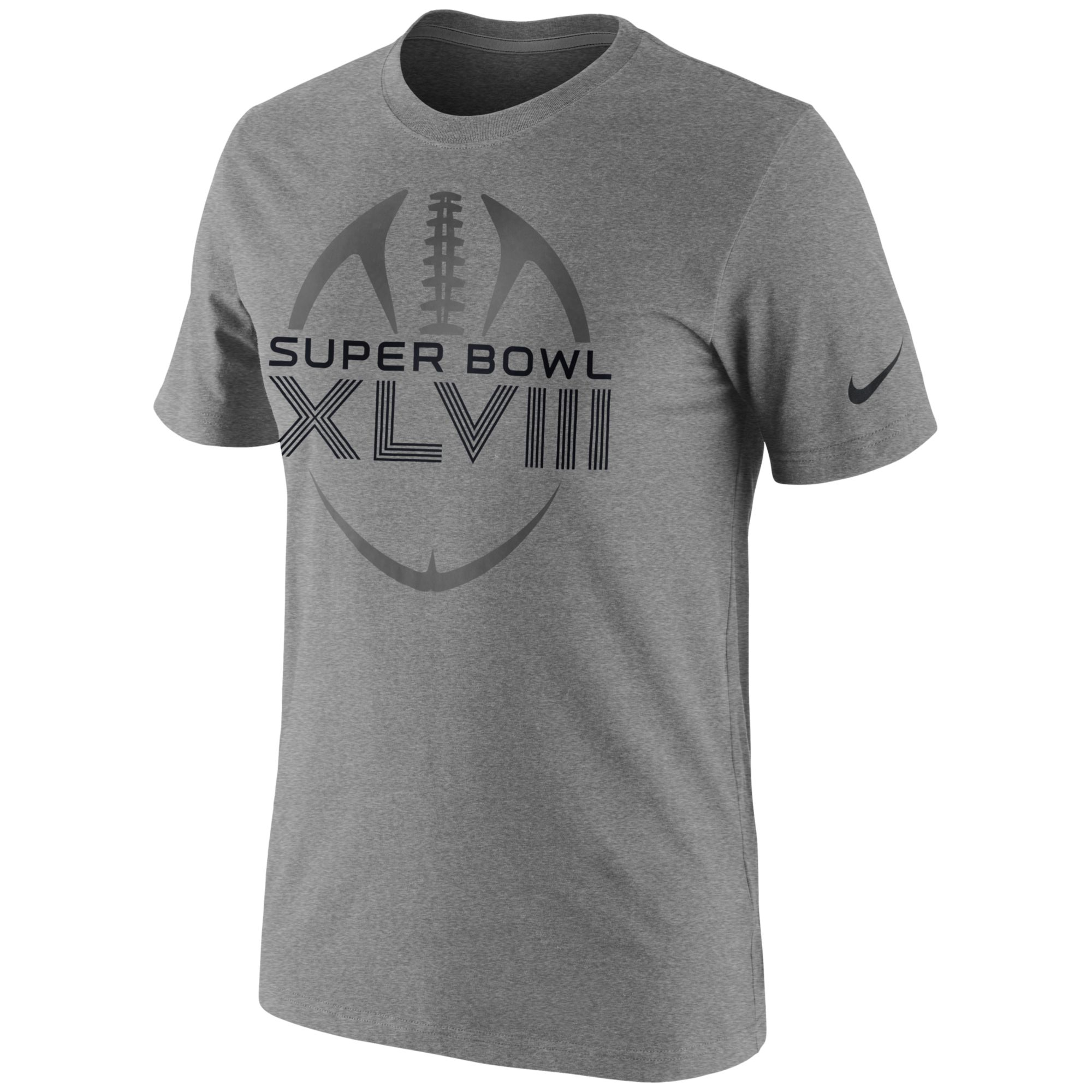 Nike Mens Super Bowl Xlviii Football Icon Legend Tshirt in ...