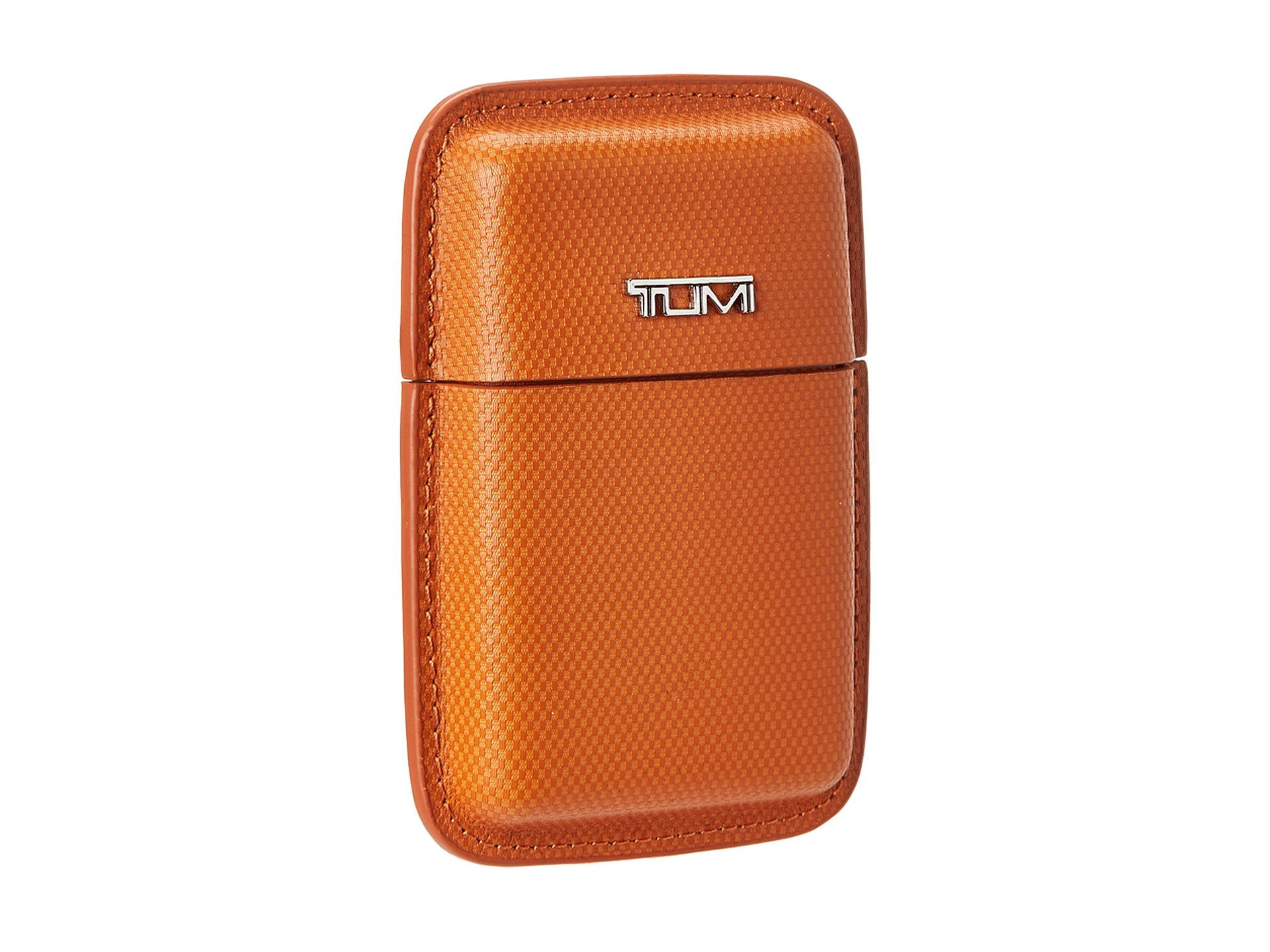 Lyst Tumi Travel Accessory Structured Business Card Leather Case