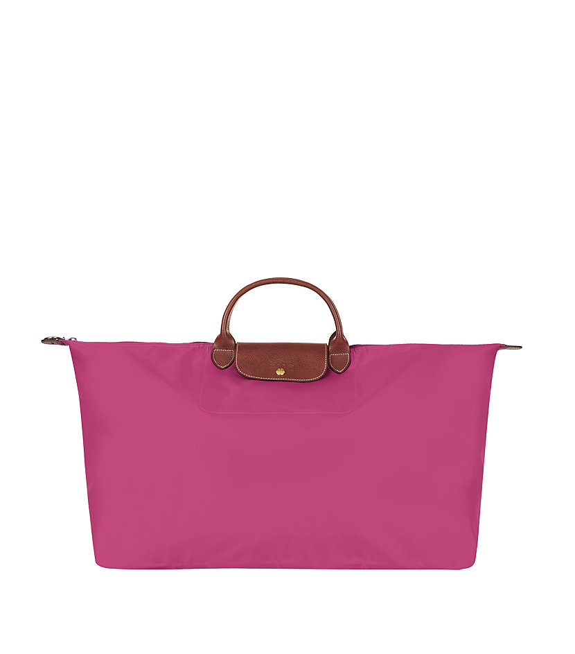longch le pliage large travel bag in pink lyst