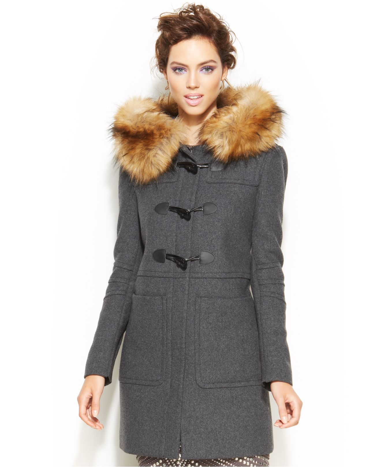 Women Faux Fur Coats - Tradingbasis