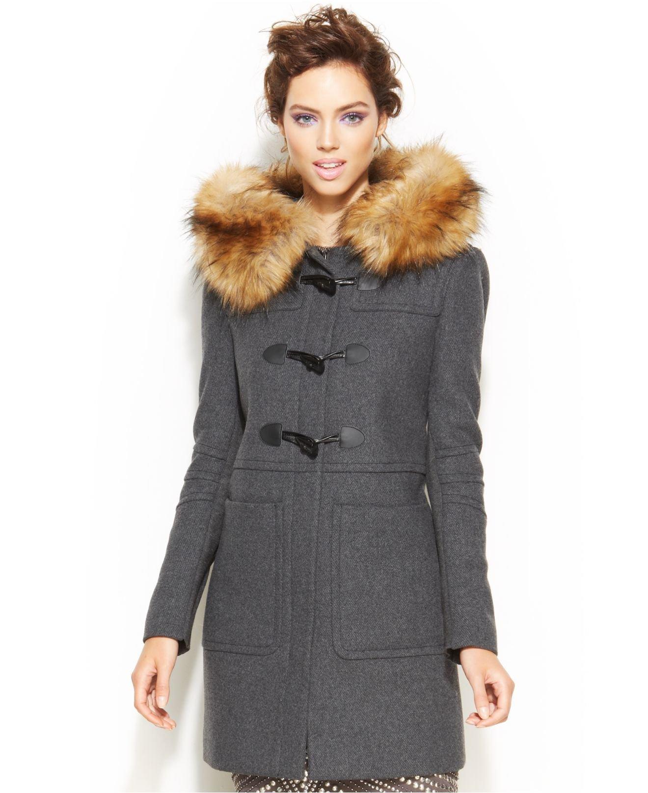 Womens Tweed Winter Coats - Tradingbasis