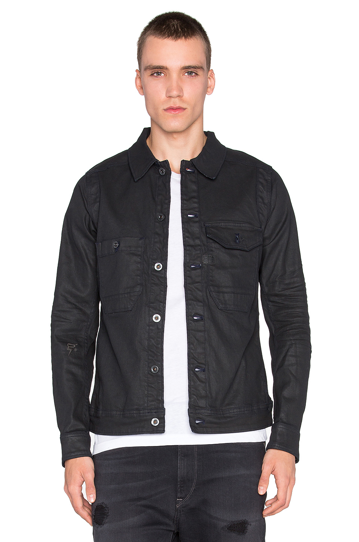 c60e97148451f G-star Raw Wolker 3d Slim Jacket In Black For Men