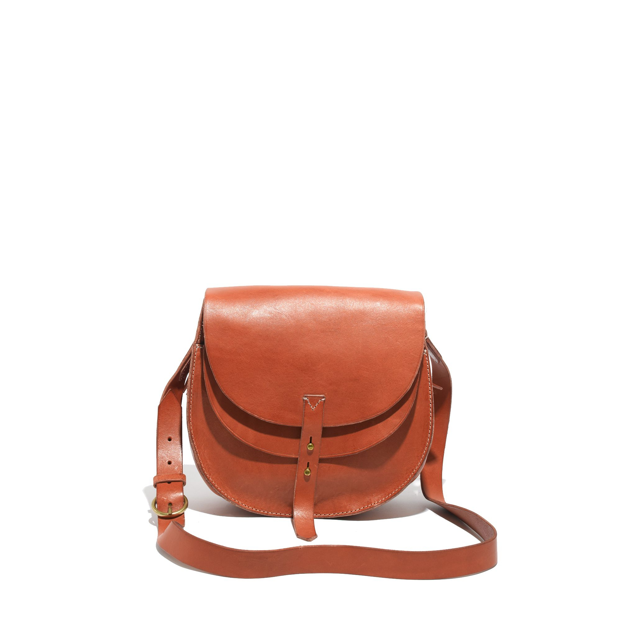 Madewell The Dover Saddle Bag In Brown