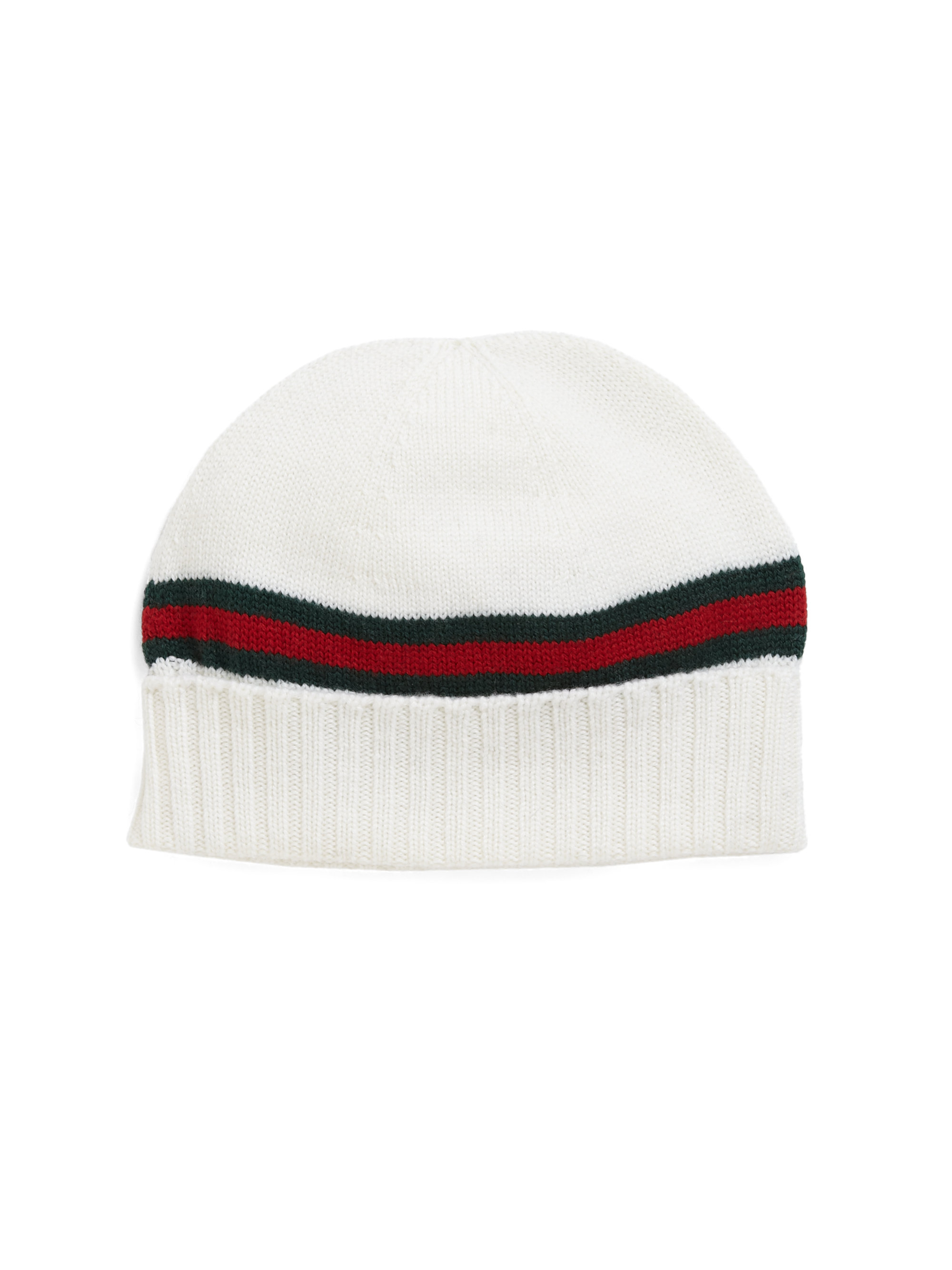 Lyst - Gucci Knit Hat in Black for Men b88715e7f30