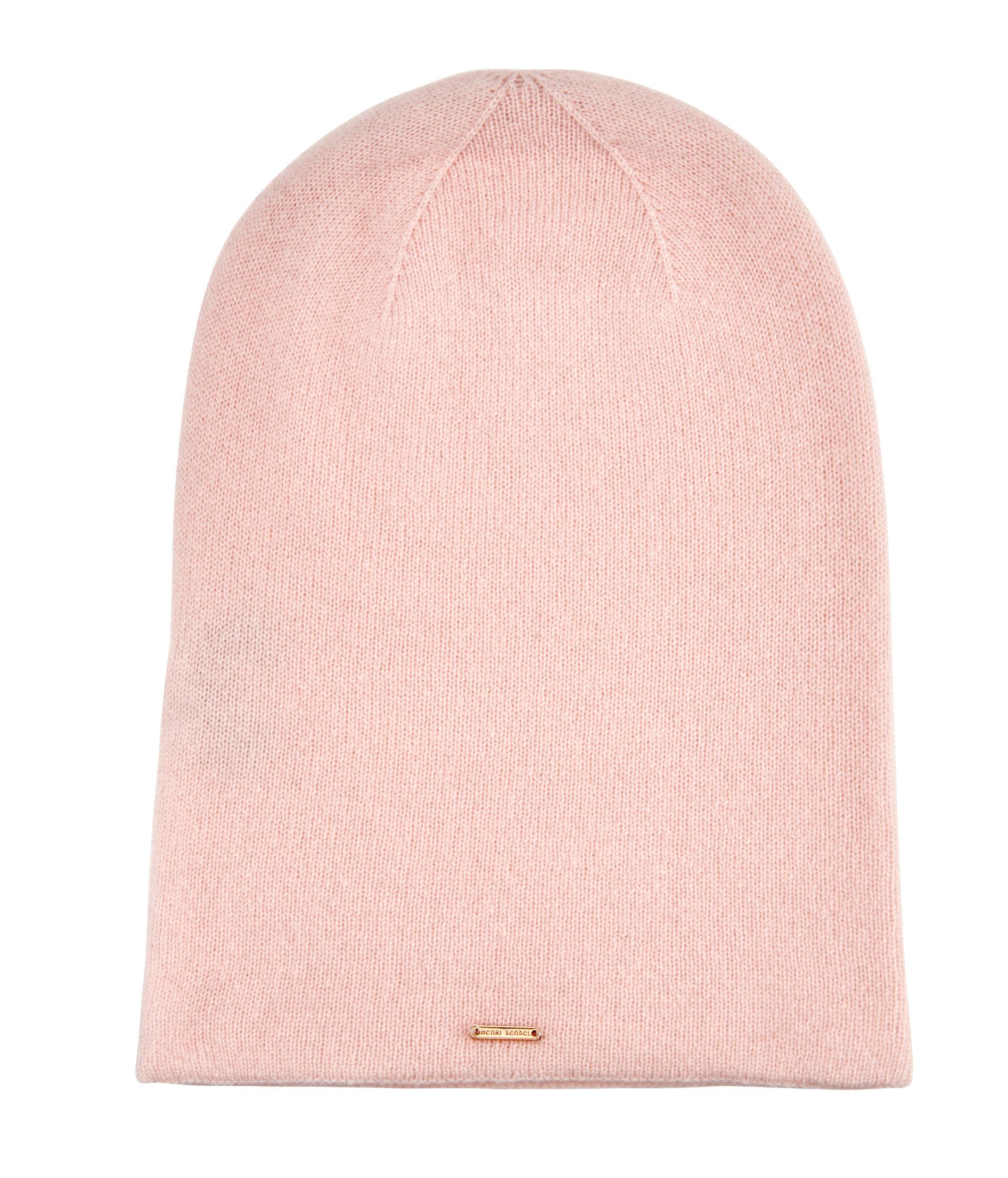 e49f59a30dc Lyst - Henri Bendel Cashmere Hat in Pink