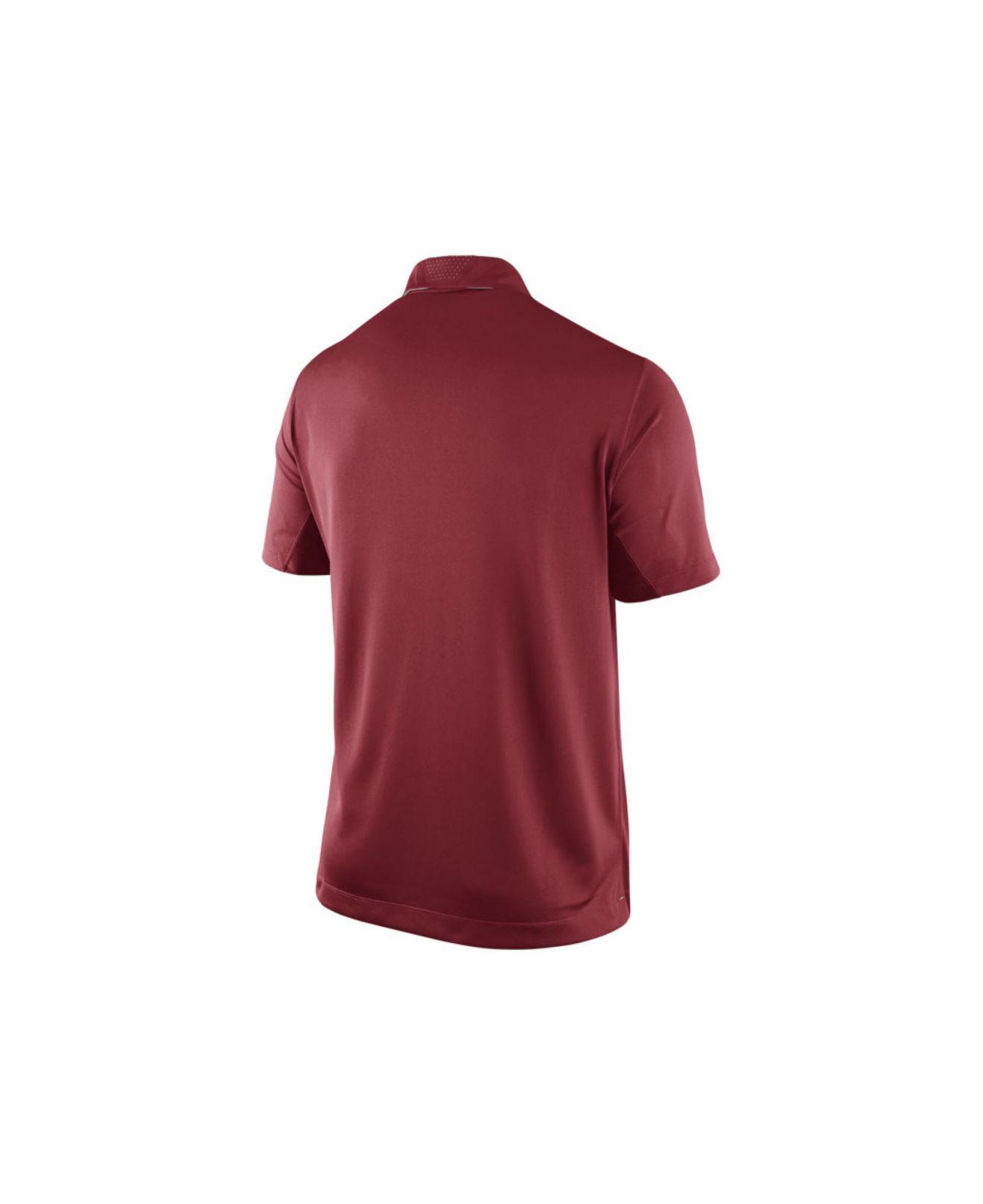 Lyst Nike Mens Alabama Crimson Tide Elite Coaches Polo Shirt In
