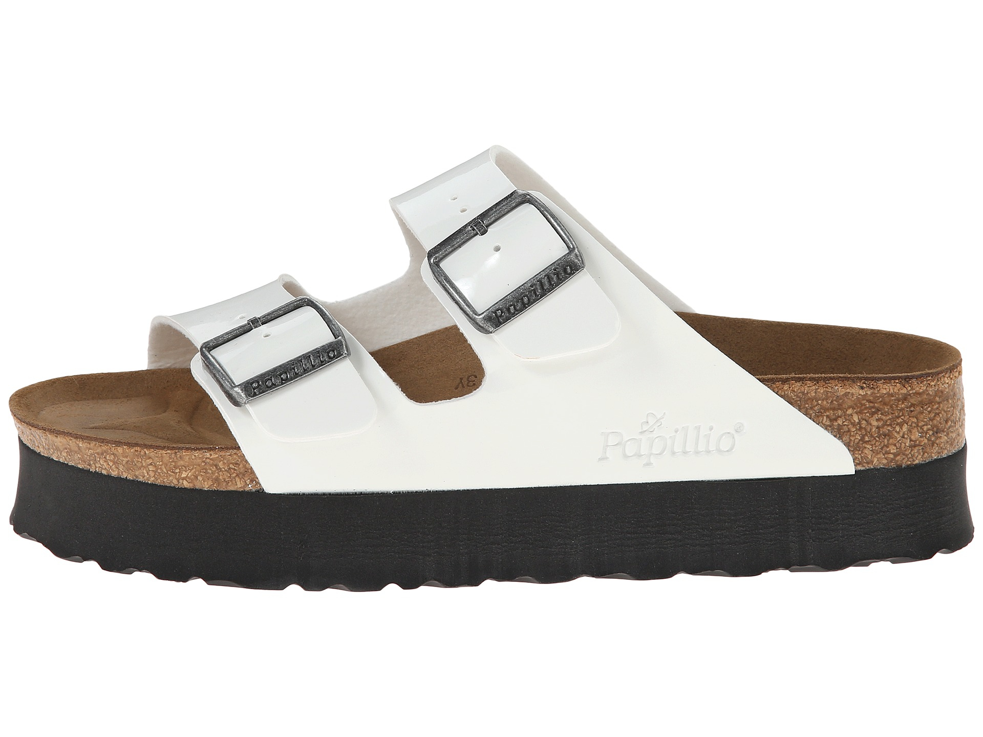 Lyst Birkenstock Arizona Platform By Papillio In White