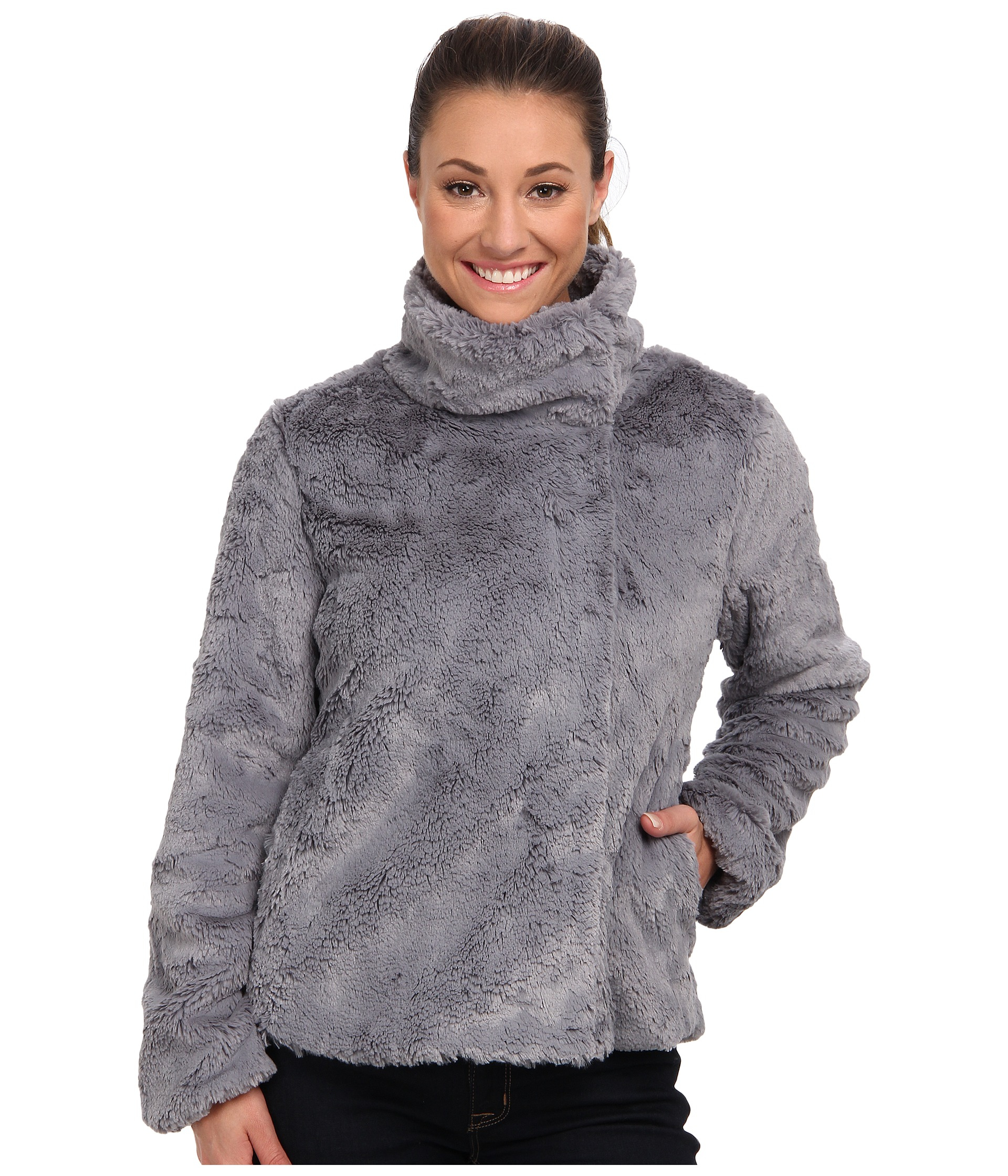 Patagonia Pelage Fleece Jacket in Gray | Lyst