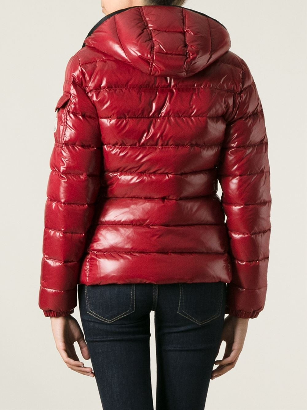 4da3e51335b2 Lyst - Moncler Bady Padded Jacket in Red
