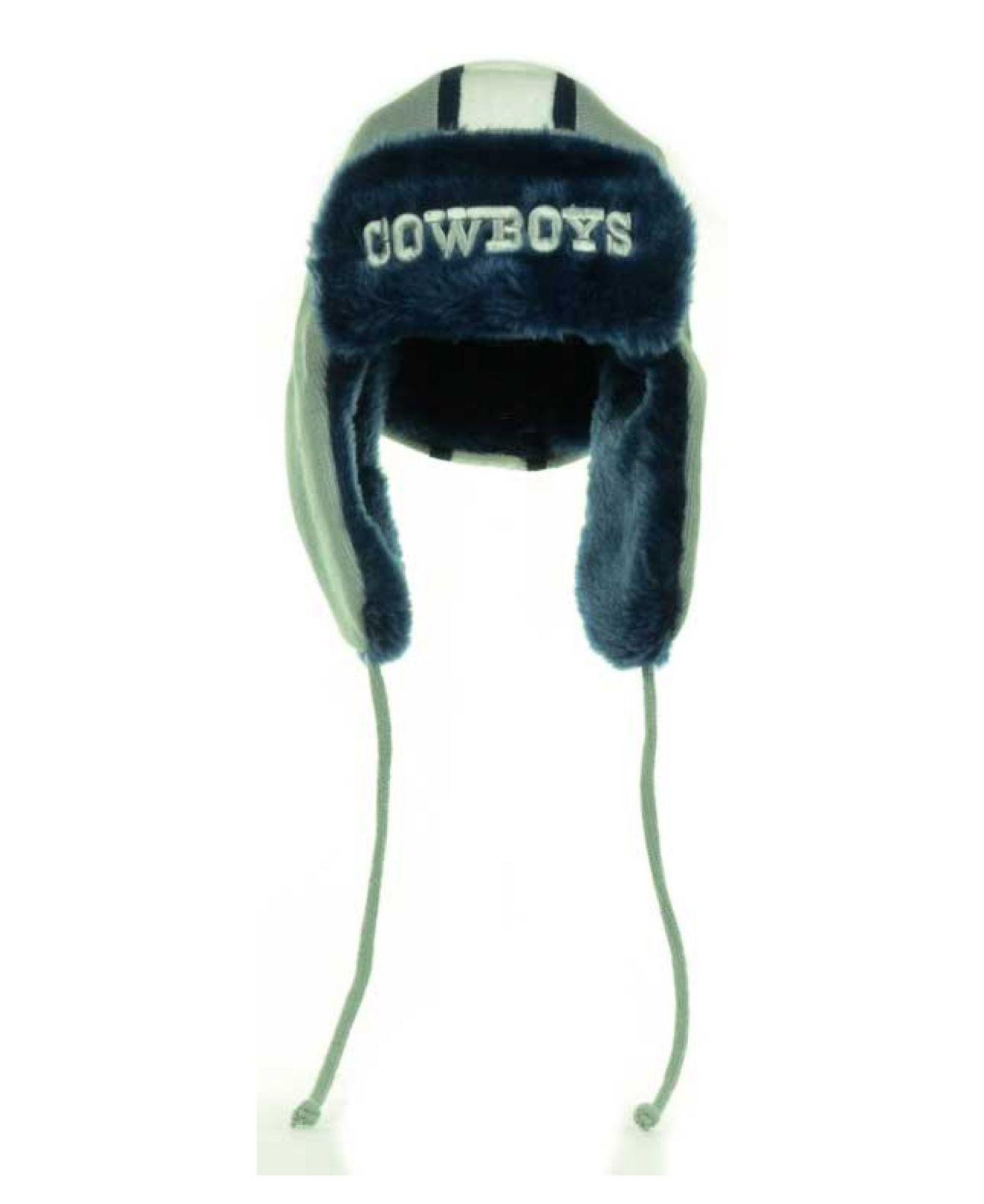 1ed5300ff6e2a2 KTZ Dallas Cowboys Trapskin Knit Hat in Gray for Men - Lyst