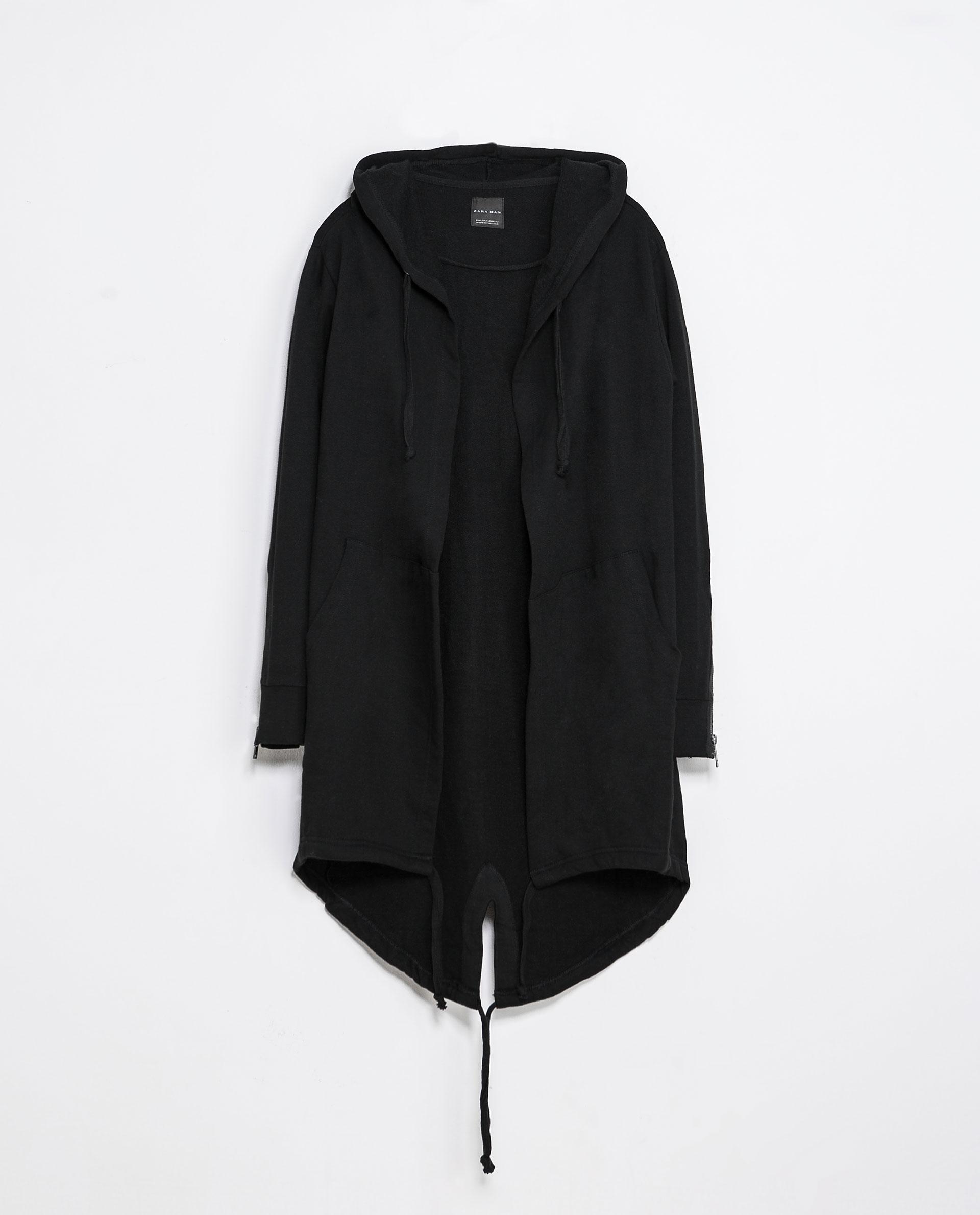zara cape in black for men lyst. Black Bedroom Furniture Sets. Home Design Ideas