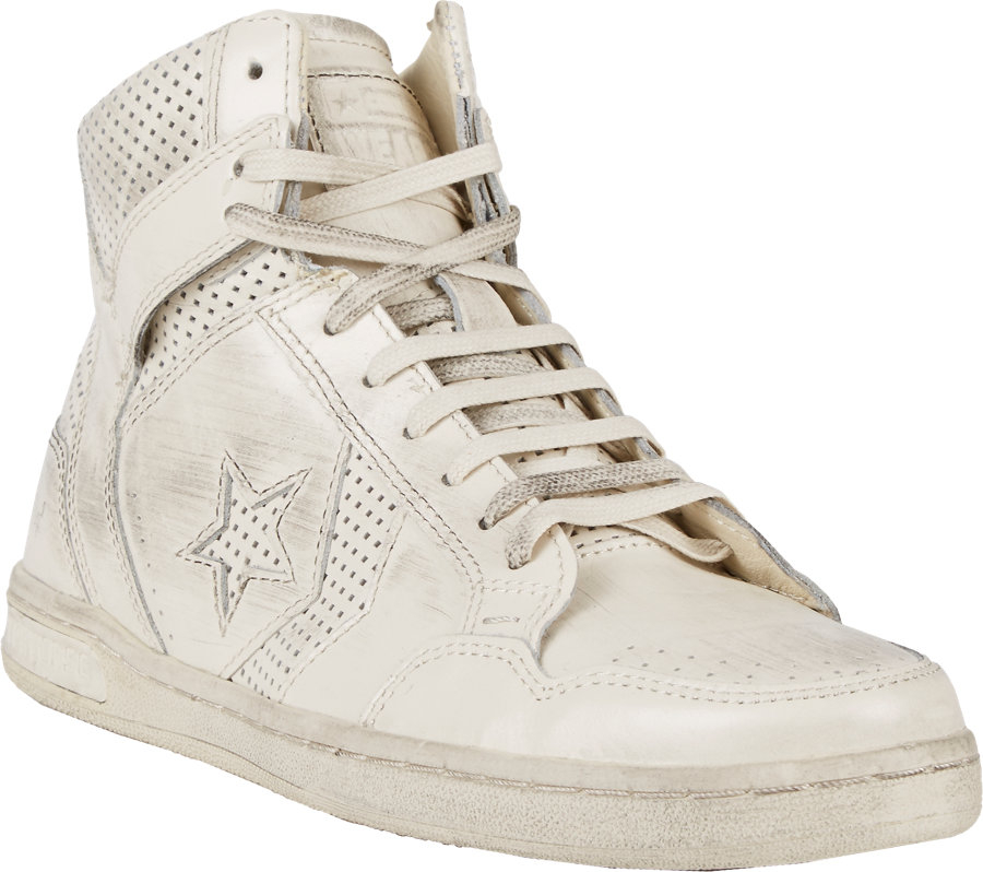 99489241738d Lyst - Converse Perforated Weapon Sneakers in White for Men