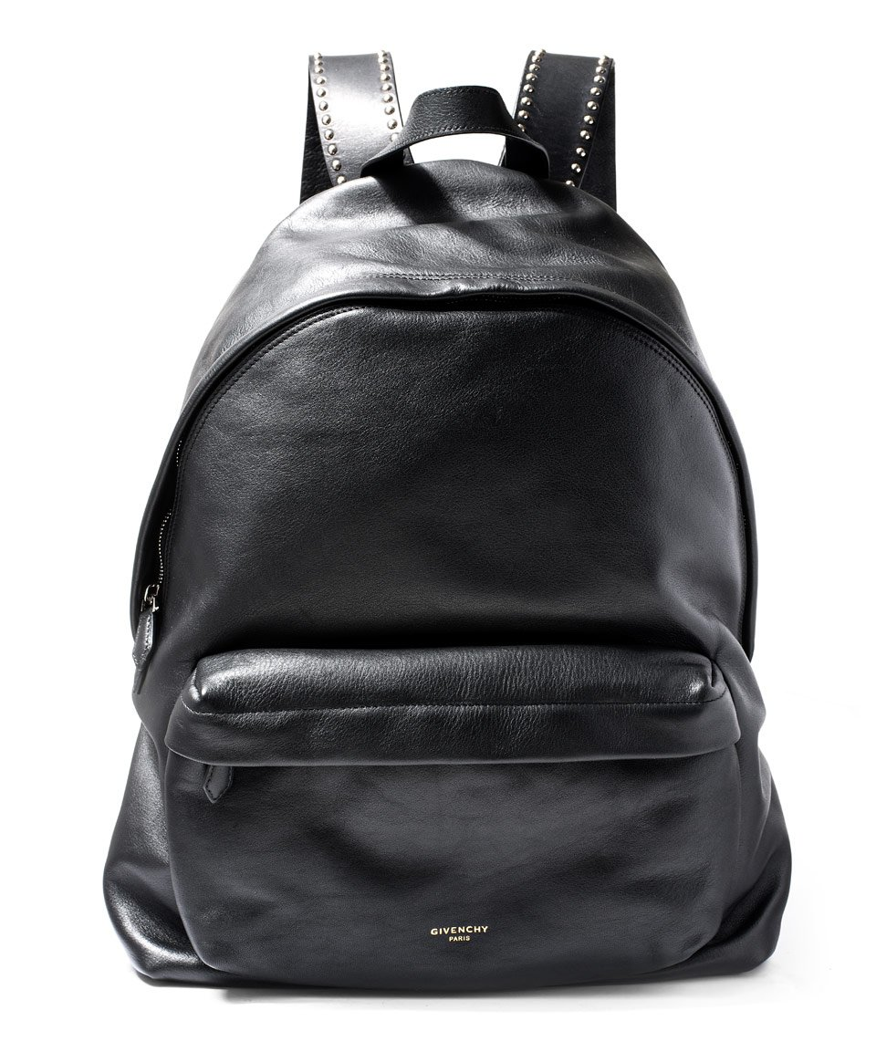 Lyst Givenchy Black Studded Leather Backpack In Black