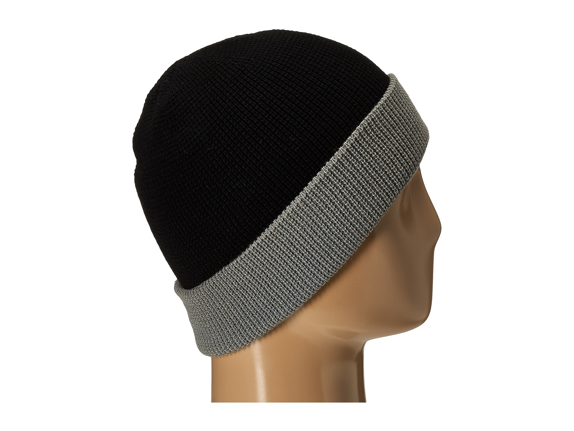6f3e587f71e Lyst - 686 Waffe Roll-up Beanie in Black for Men