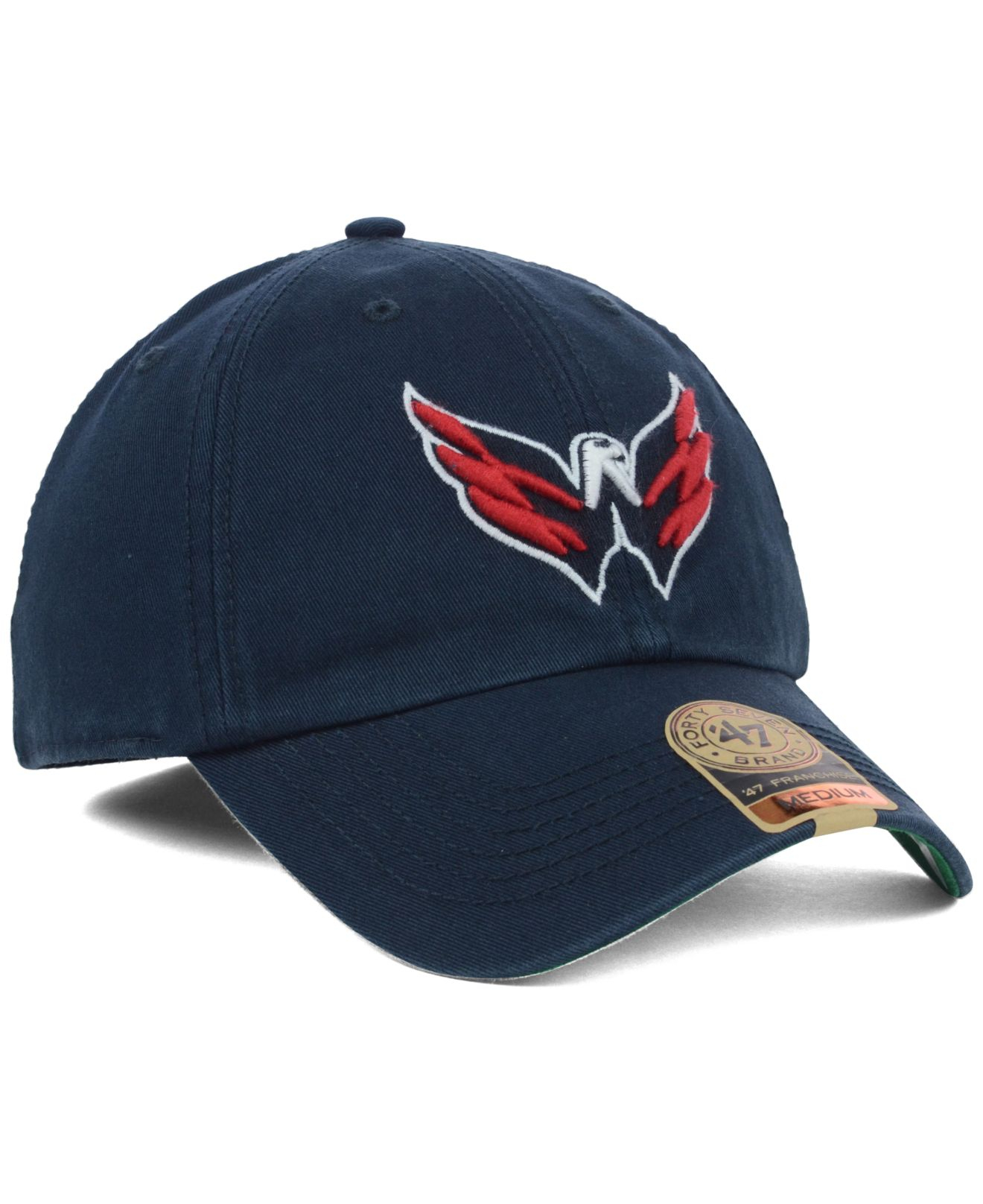 cfad88f5daa ... clearance low cost lyst 47 brand washington capitals franchise cap in  blue for men 4c961 a83cd
