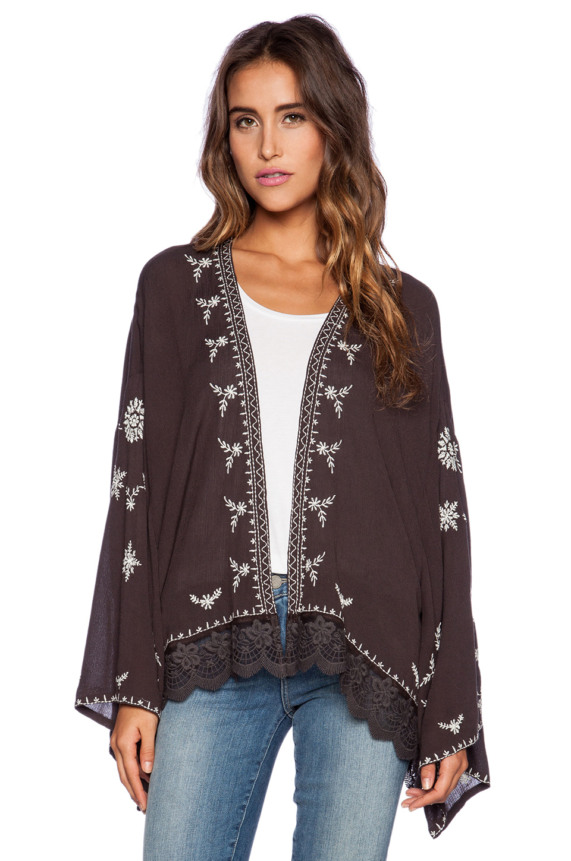 Fringed Kimonos