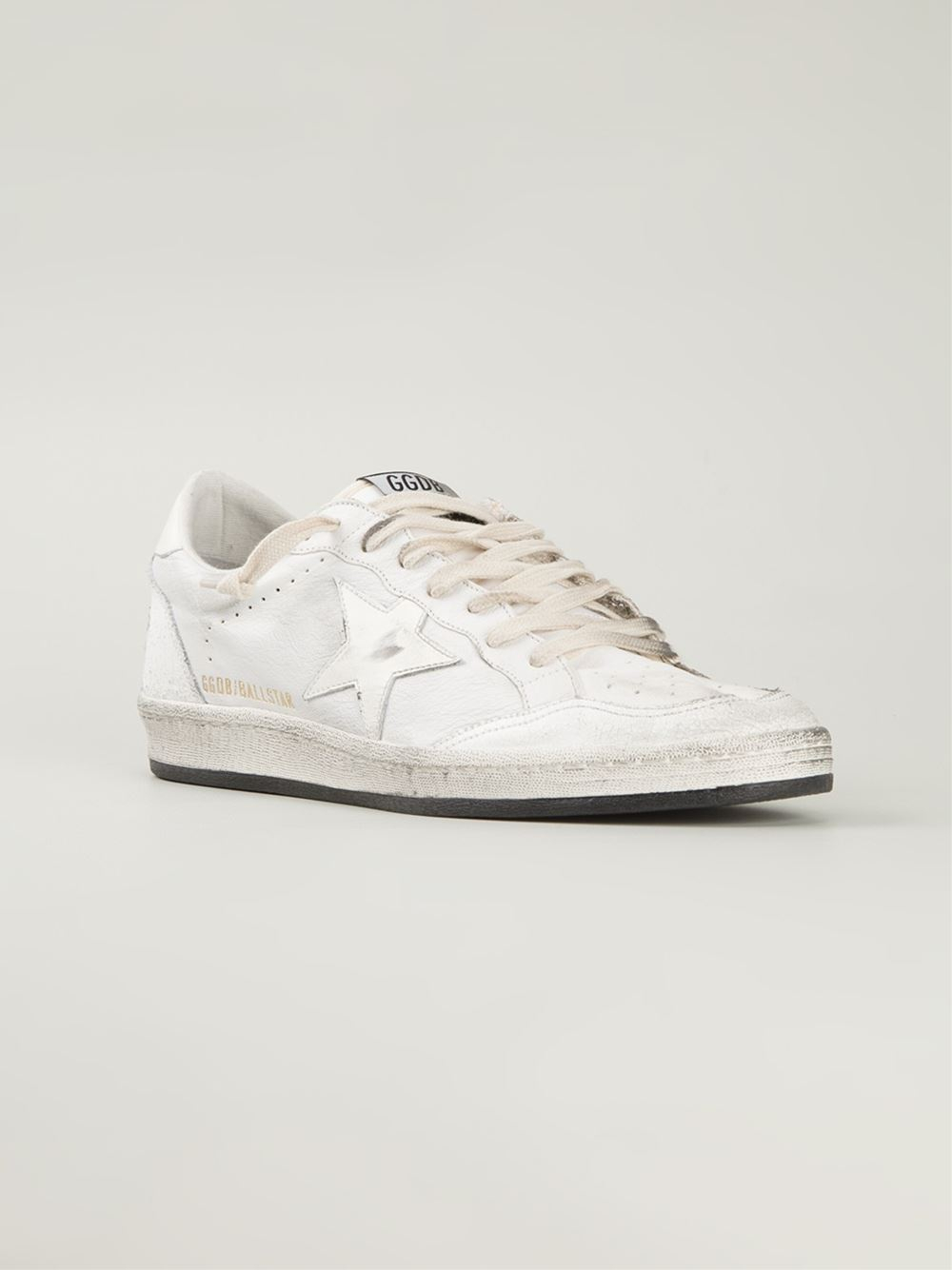 bc2044fda1448 Lyst - Golden Goose Deluxe Brand  Ball Star  Sneakers in White for Men