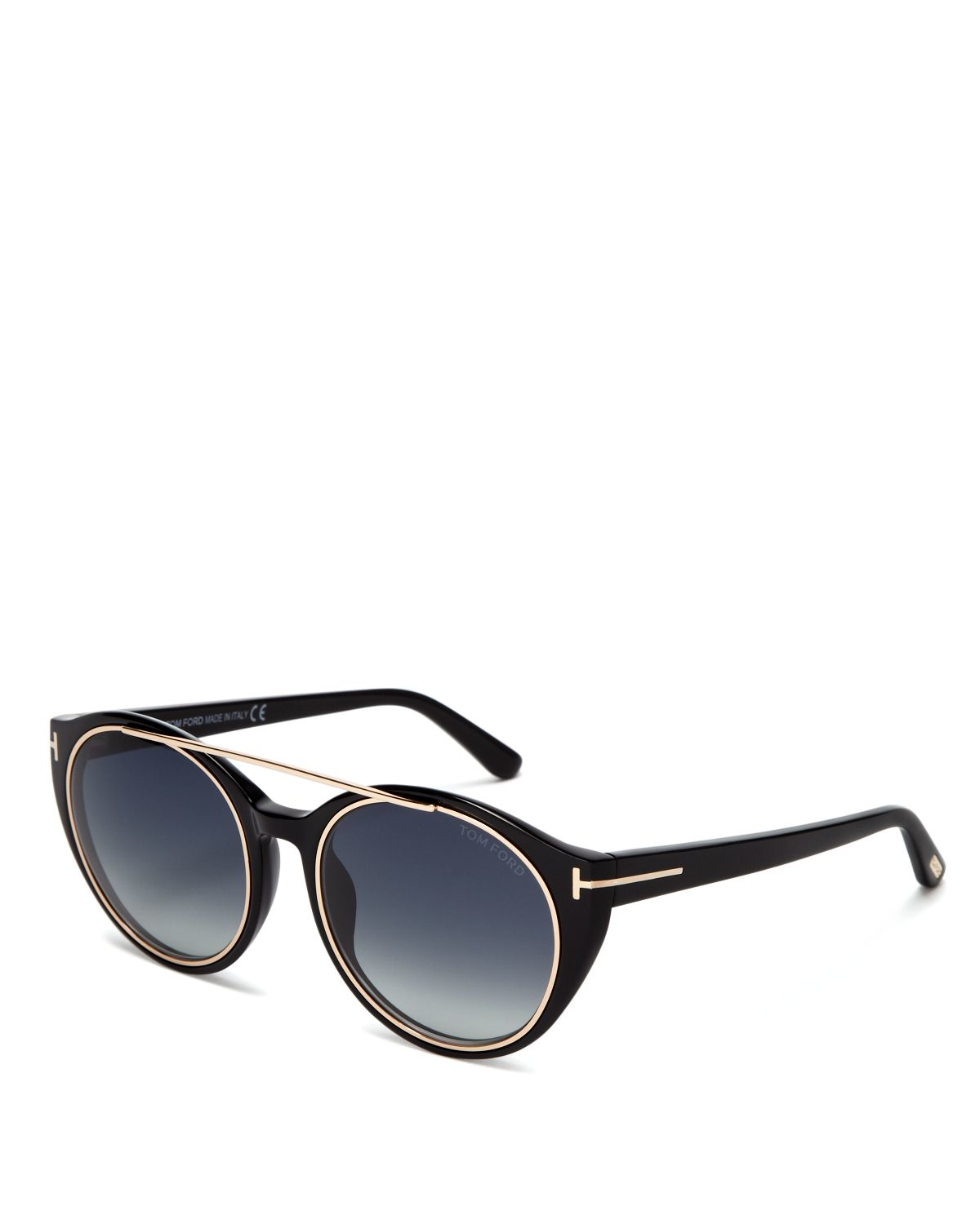 Wills Point Ford >> Lyst - Tom ford Joan Round Sunglasses, 52mm in Black