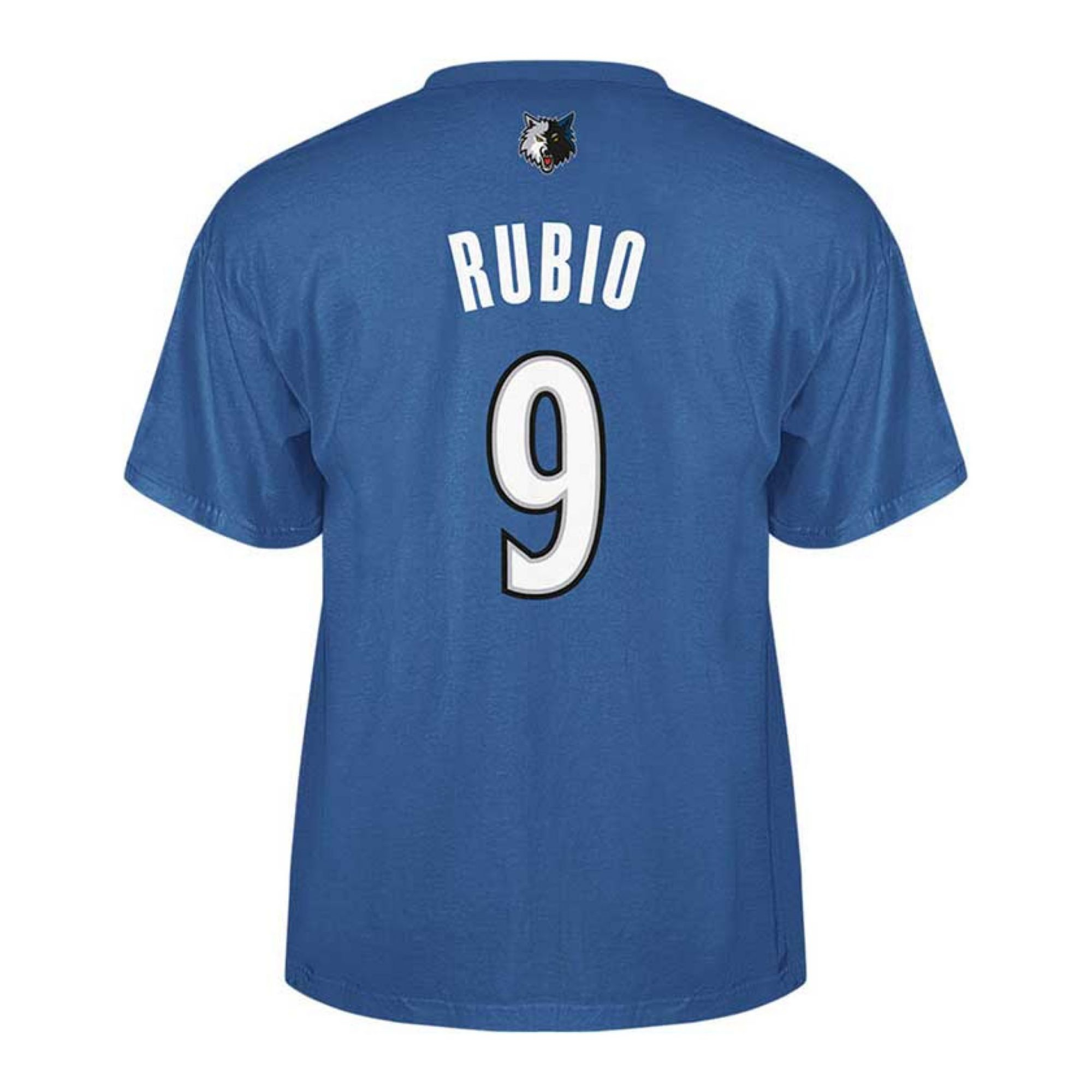 Adidas men 39 s minnesota timberwolves ricky rubio player t for Timberwolves new logo shirt