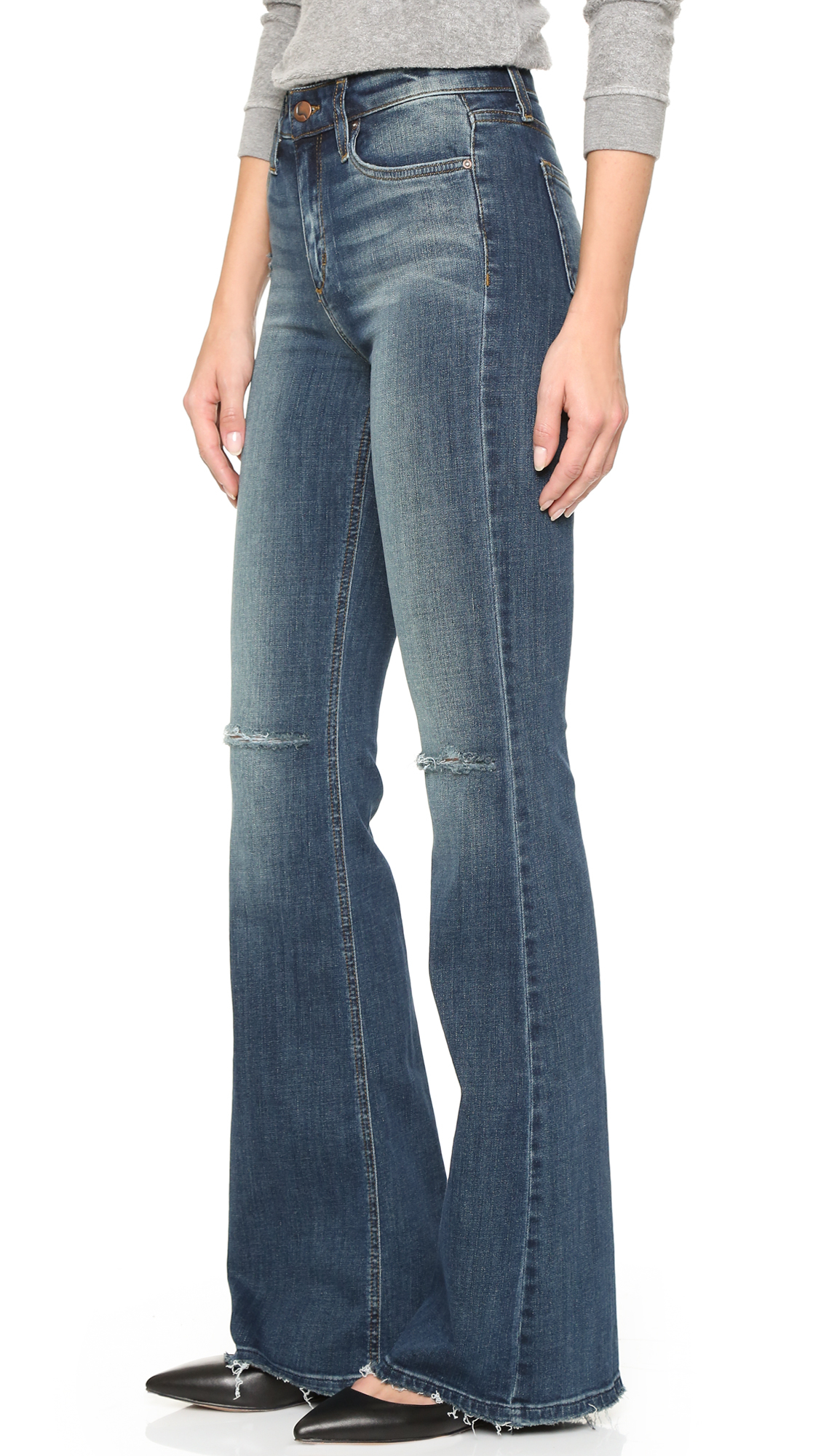 Joe's jeans Charlie Flare Jeans in Blue | Lyst