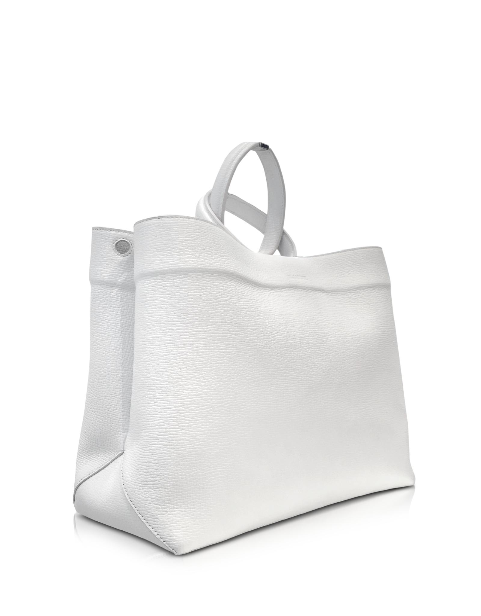 large tote bag - White Jil Sander eUndV