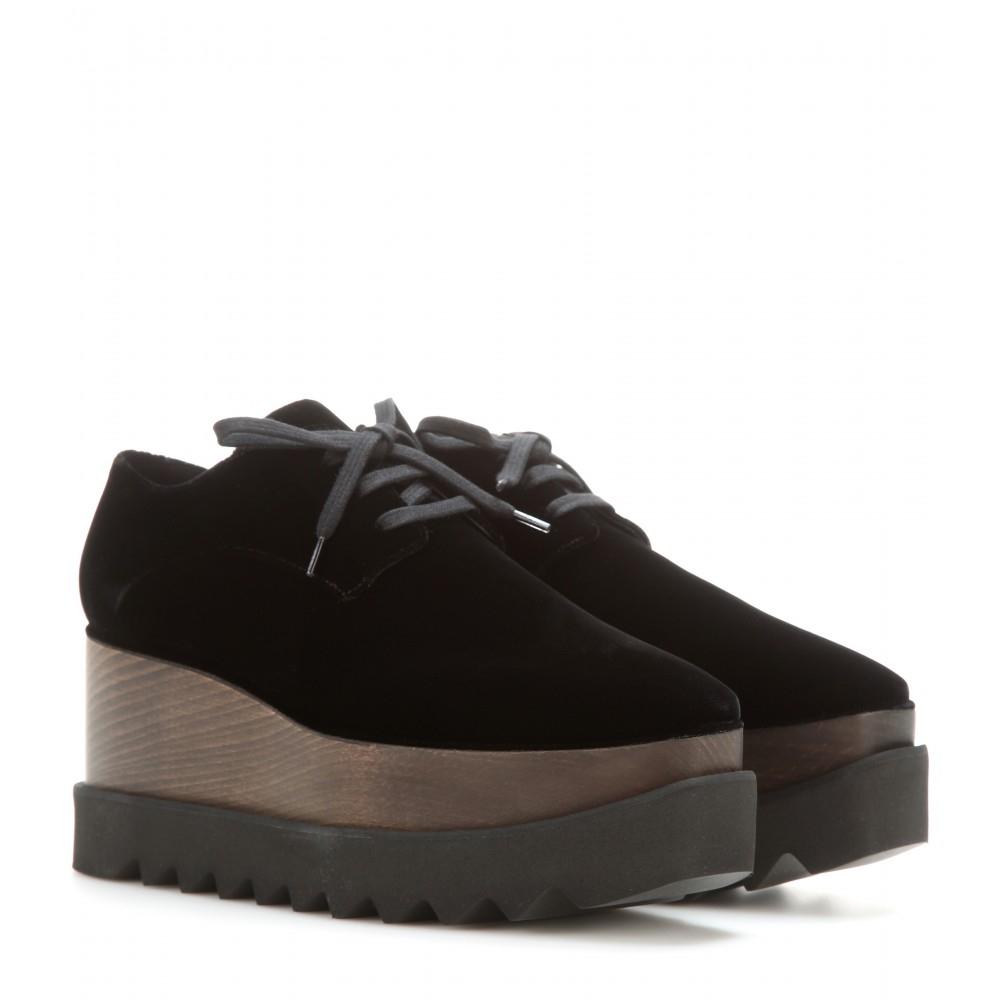 platform derby shoes - Black Stella McCartney 2vzEWE7p1