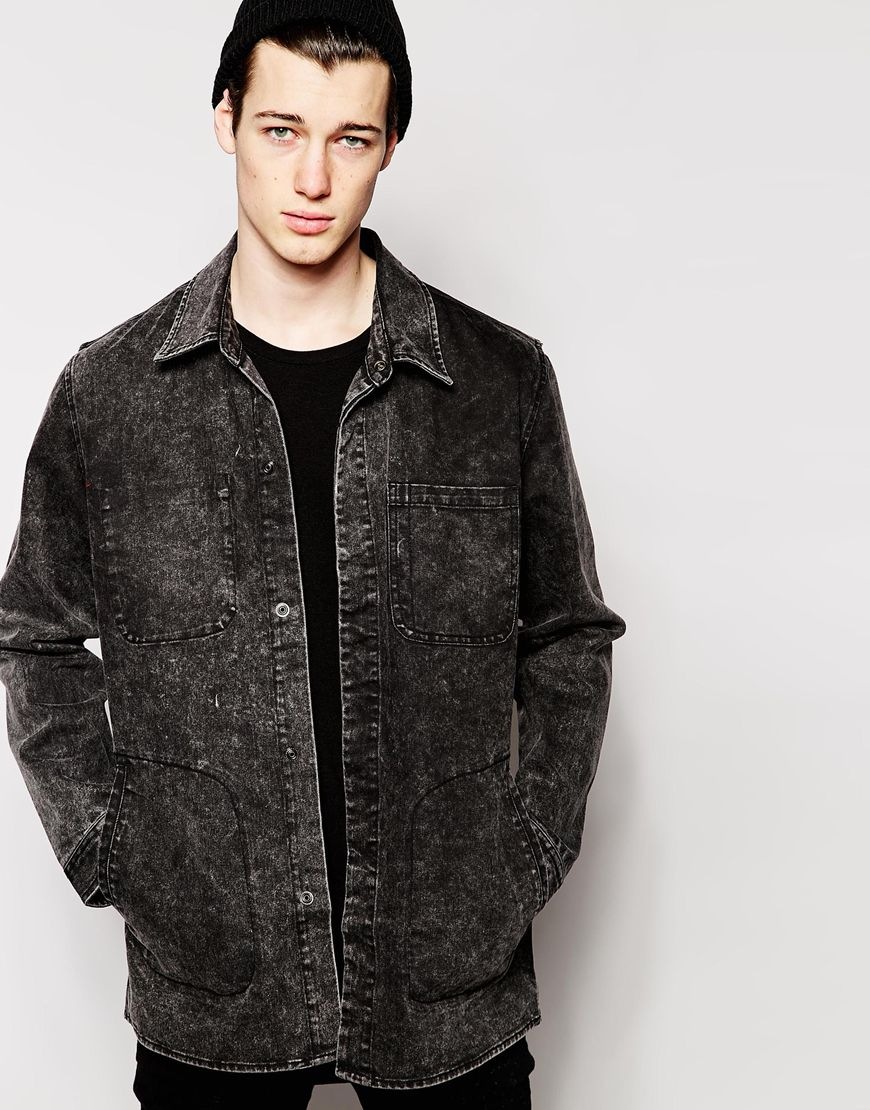 Collection Longline Jacket Mens Pictures - Reikian
