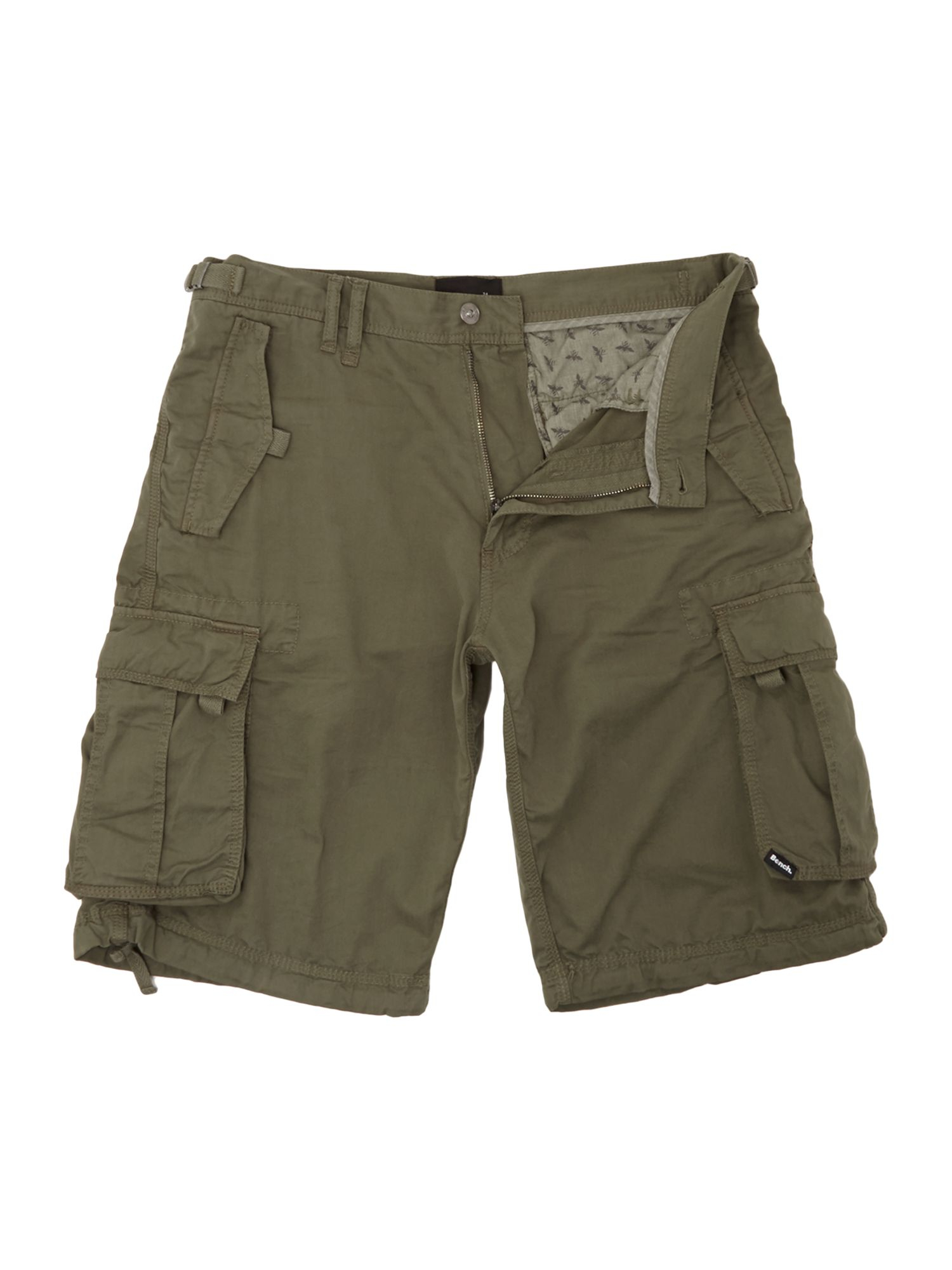 bench cargo shorts in khaki for men lyst