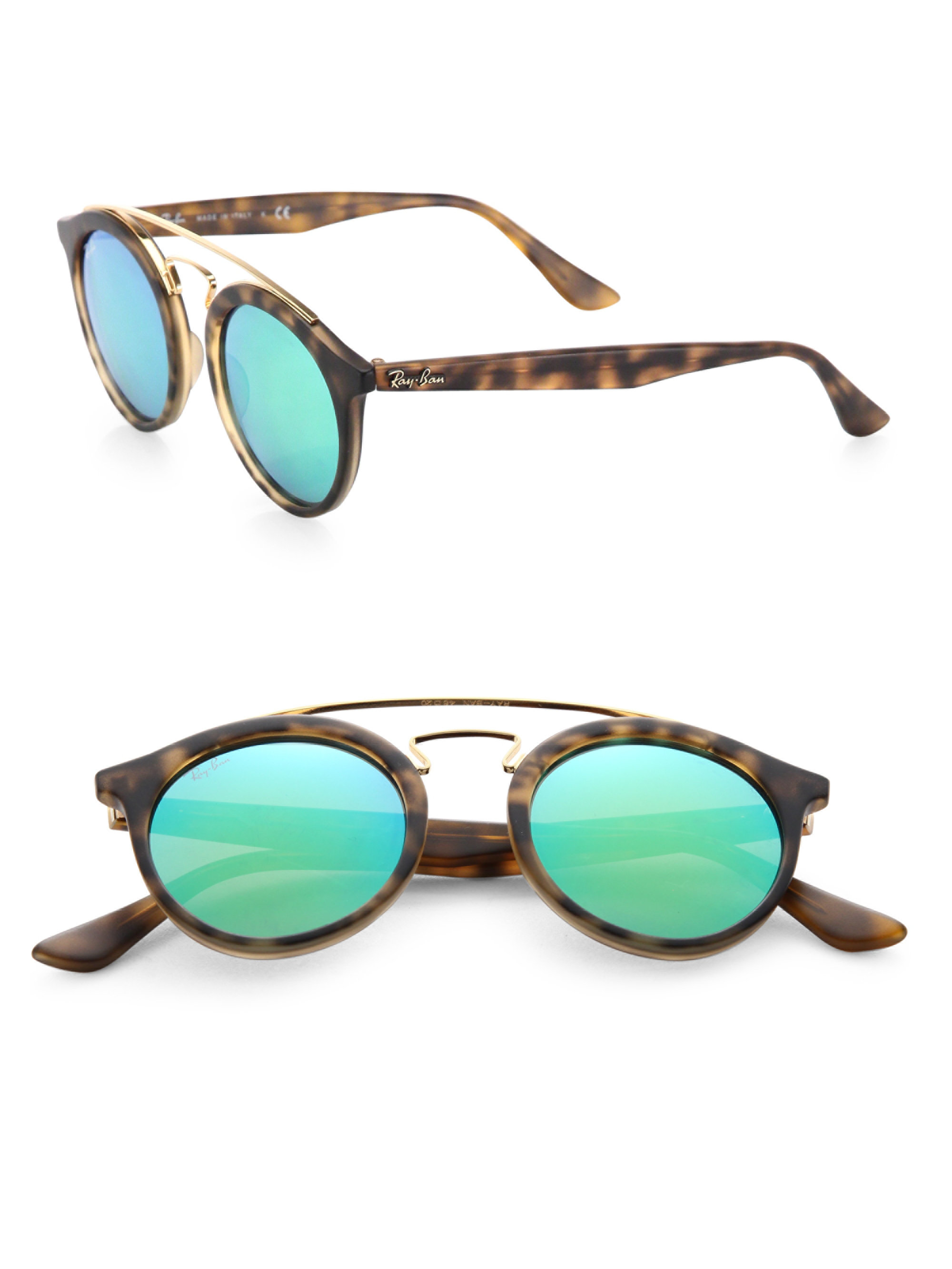 Ray Ban Prescription Mirrored Sunglasses Heritage Malta