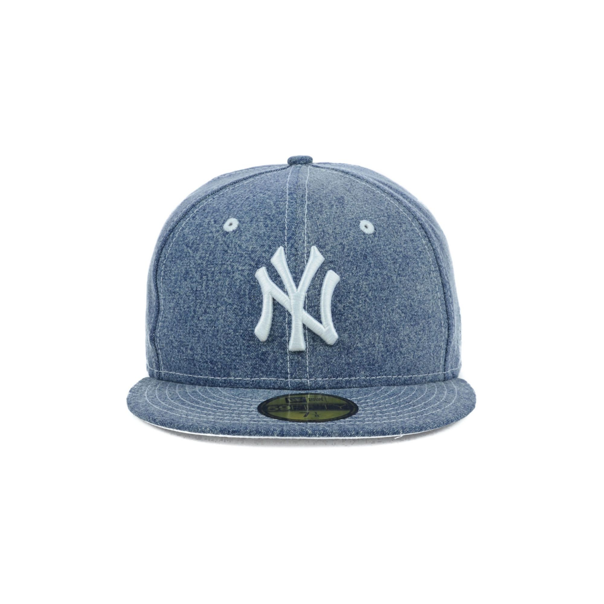 9691c7ce0f7 ... new style coupon code for lyst ktz new york yankees mlb classic denim  59fifty cap in