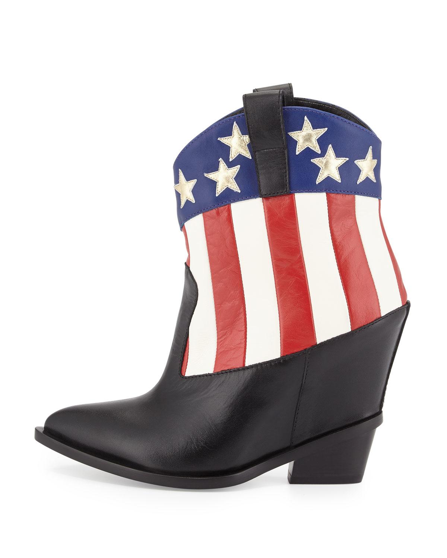 giuseppe zanotti western wedge boots