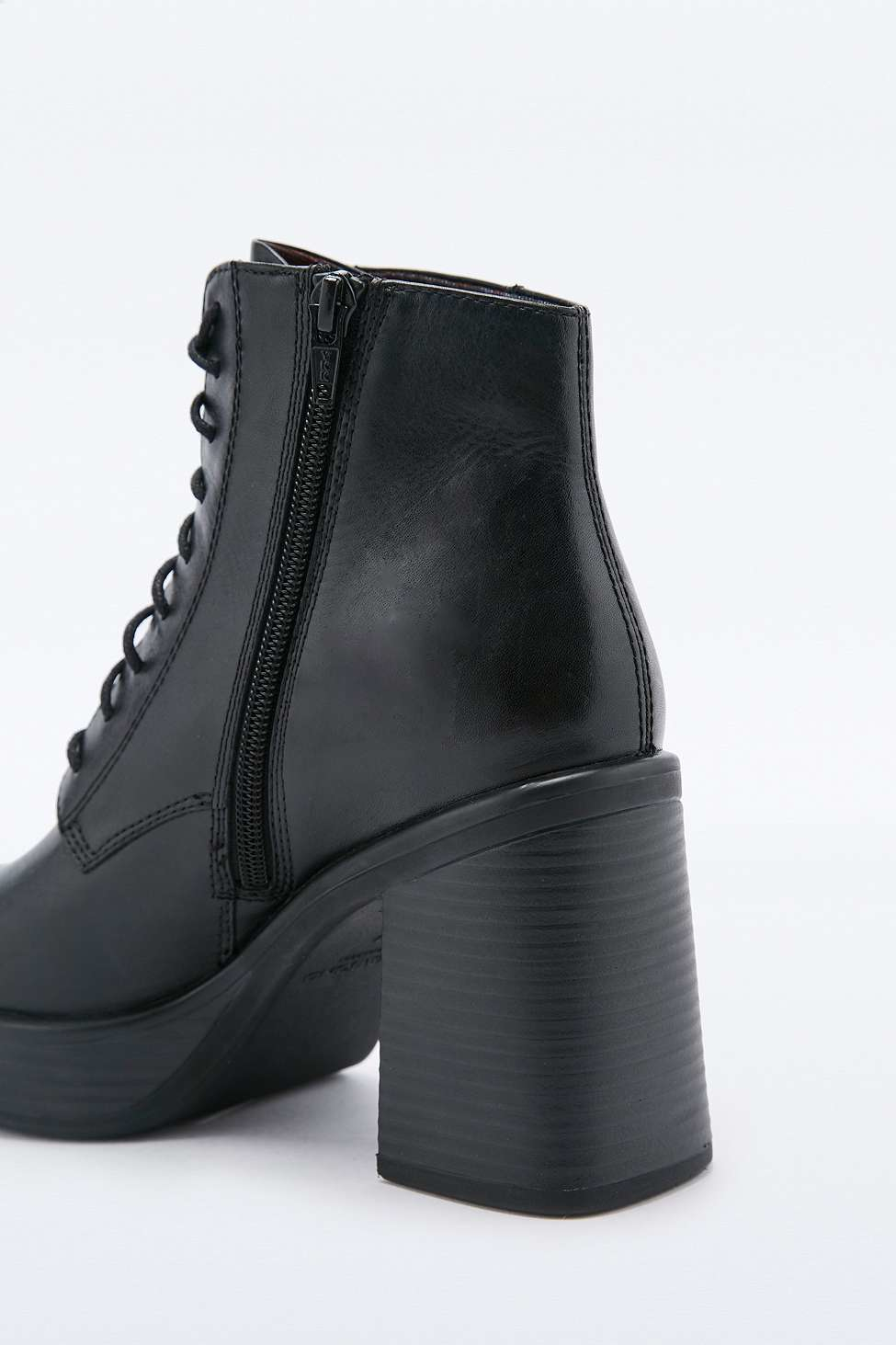 lyst vagabond tyra lace up ankle boots in black. Black Bedroom Furniture Sets. Home Design Ideas