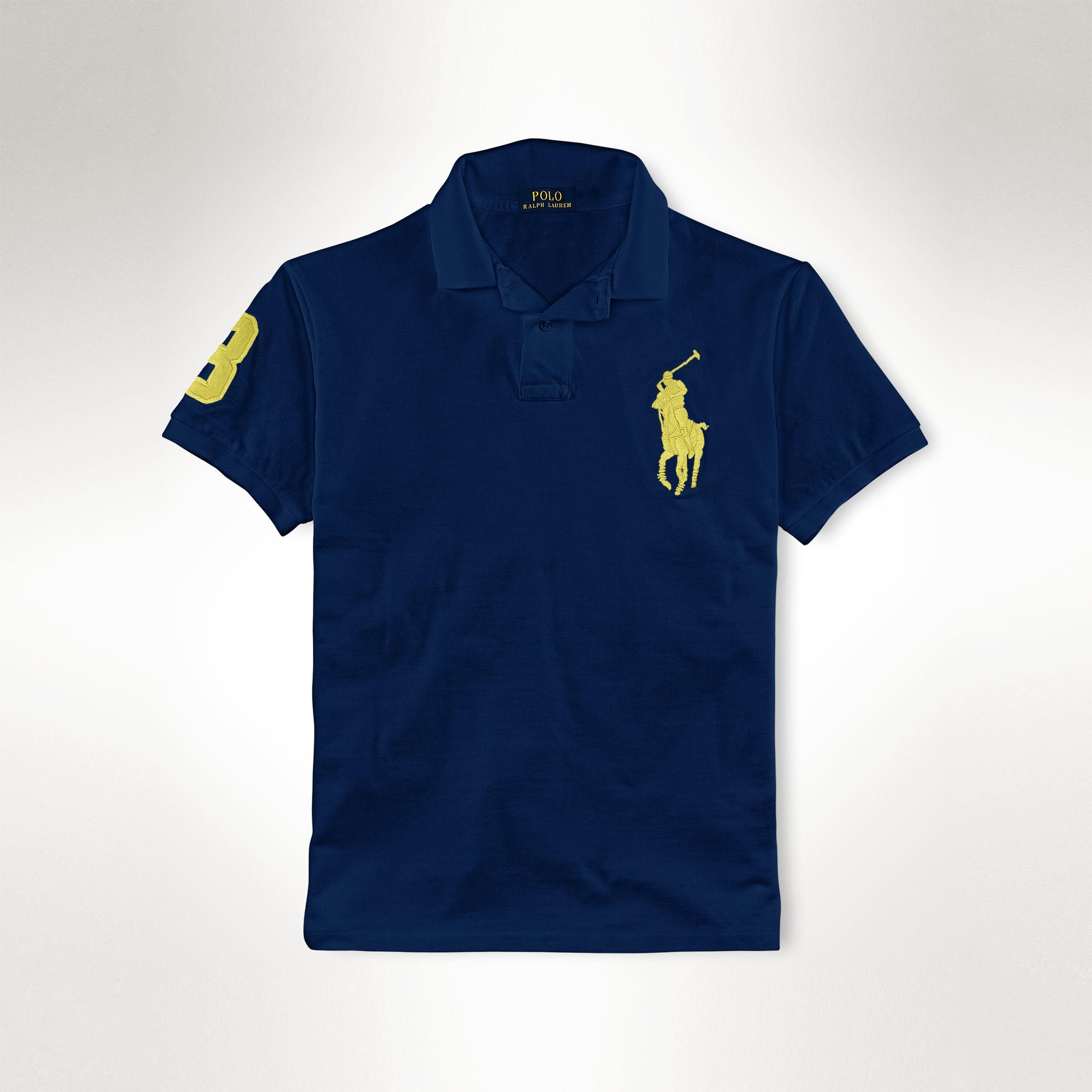 Low Price Green Ralph 63cd1 Shirt 0ac37 Neon Brand Lauren Polo 35ARq4jLc