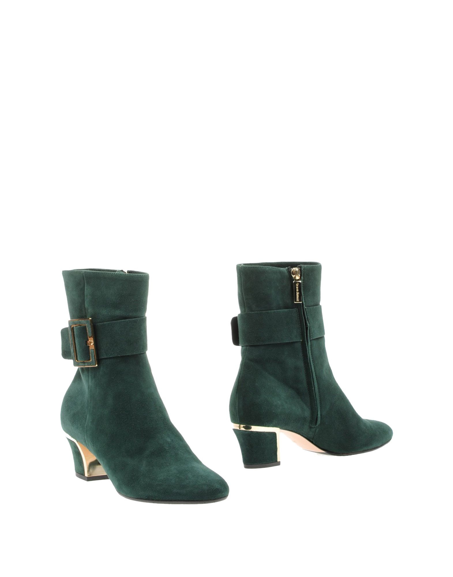 Lyst Giorgio Fabiani Ankle Boots In Green
