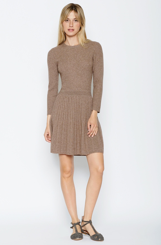 0f9821ed45 Lyst - Joie Peronne Sweater Dress in Brown