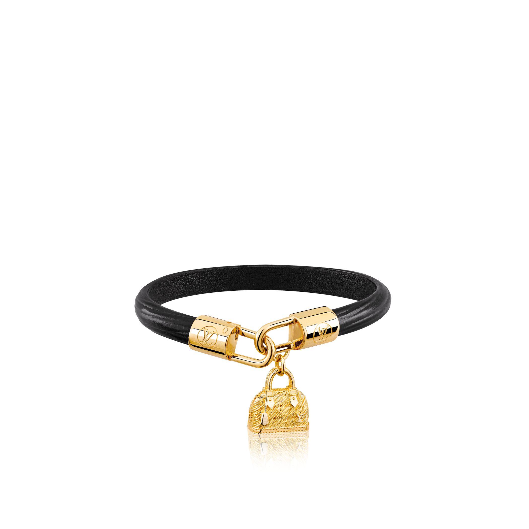 Louis Vuitton Alma Bracelet In Black Lyst