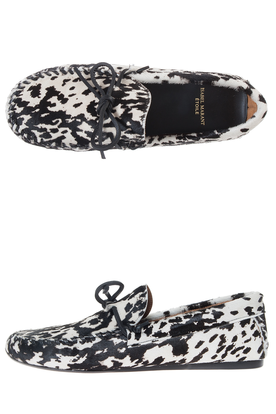 Étoile Isabel Marant Printed Pony Hair Loafers for sale official site browse cheap online VqDxnxx