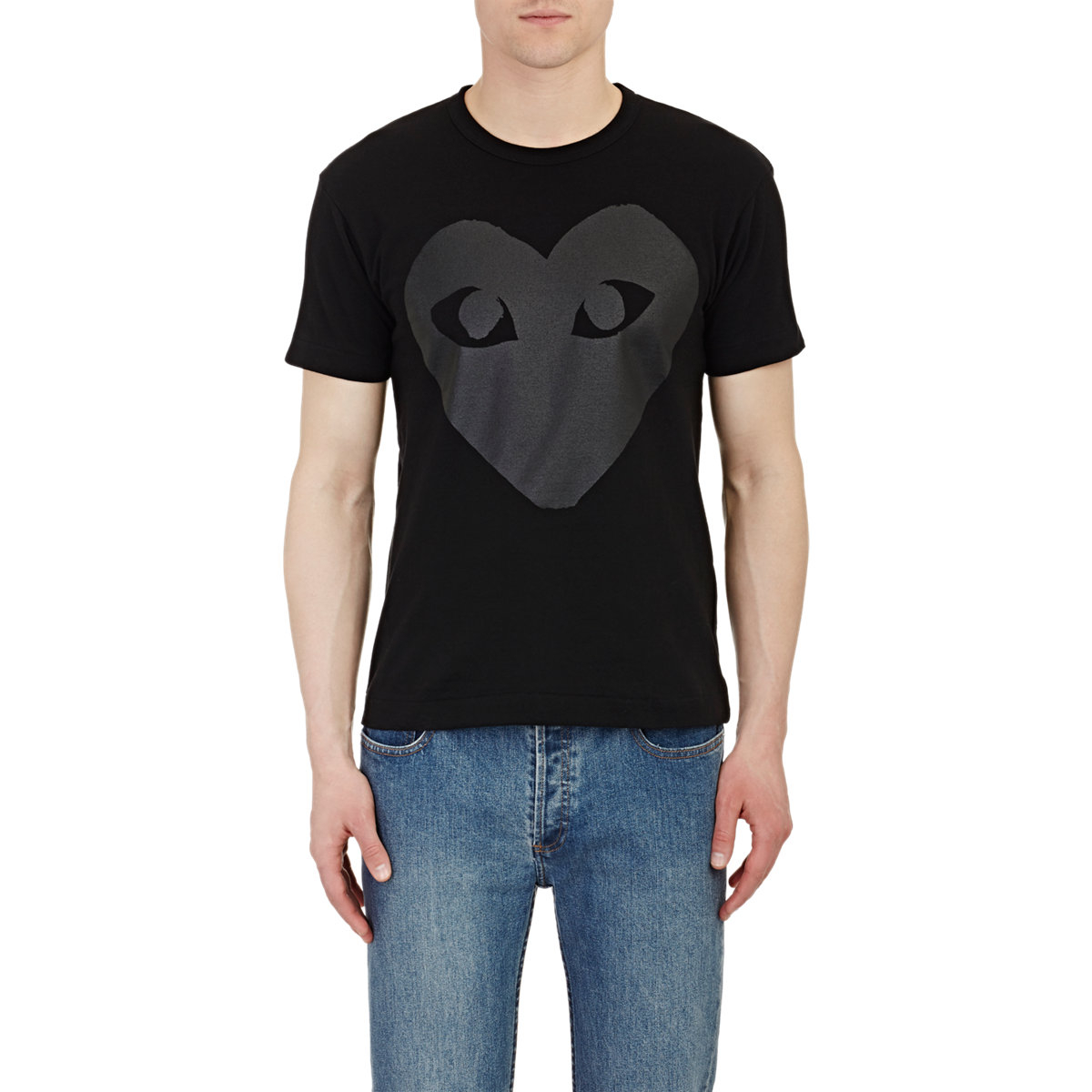 Play Comme Des Gar Ons Men 39 S Heart Graphic T Shirt In