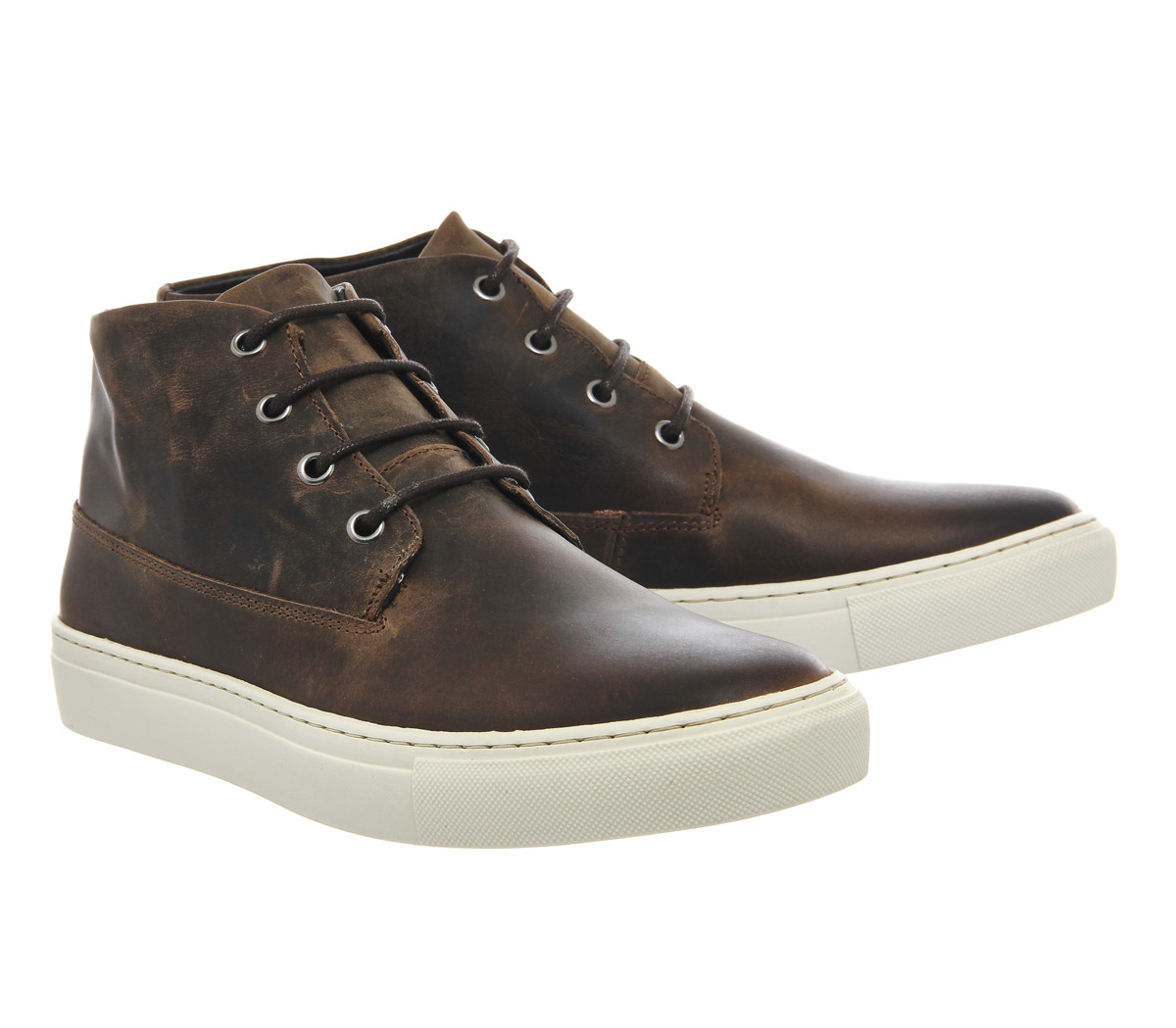 office cuppa chukka boots in brown for lyst